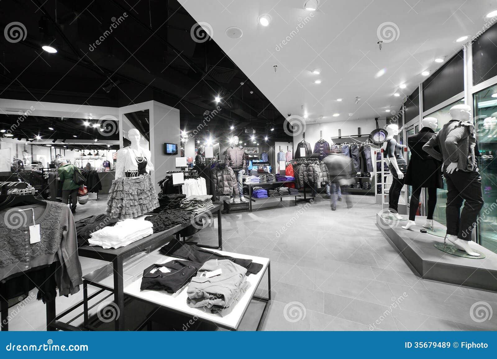 Europejski sklep odzieżowy z ogromną kolekcją