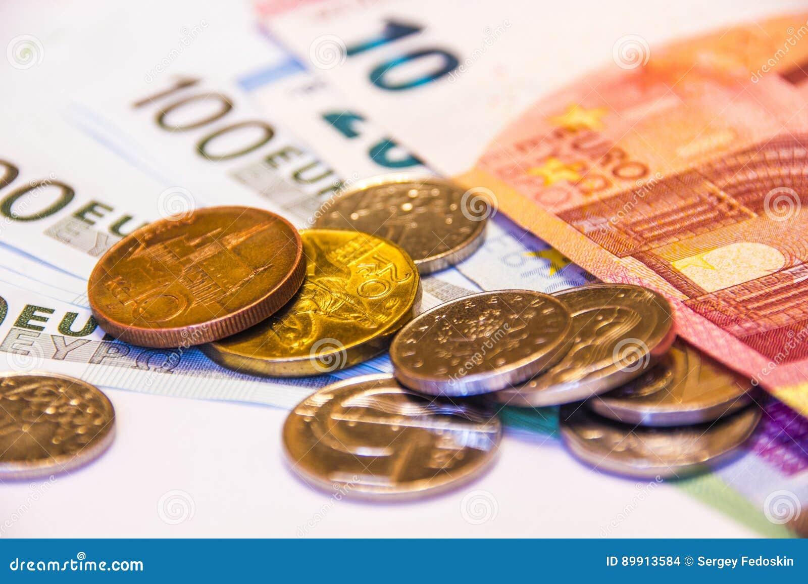 tjeckiska kronor till euro