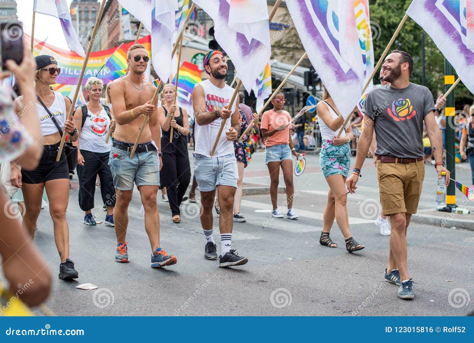EuroPride 2018 com Éstocolmo Pride Parade