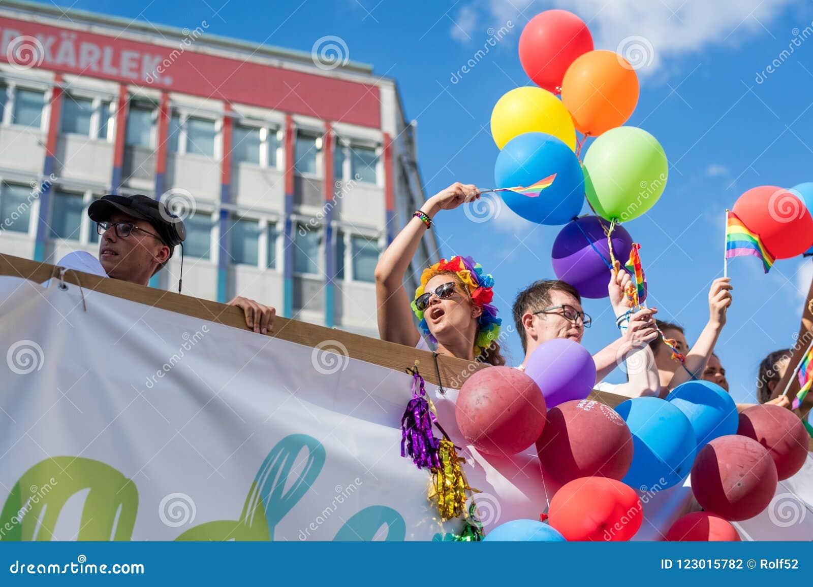 EuroPride 2018 mit Stockholm Pride Parade