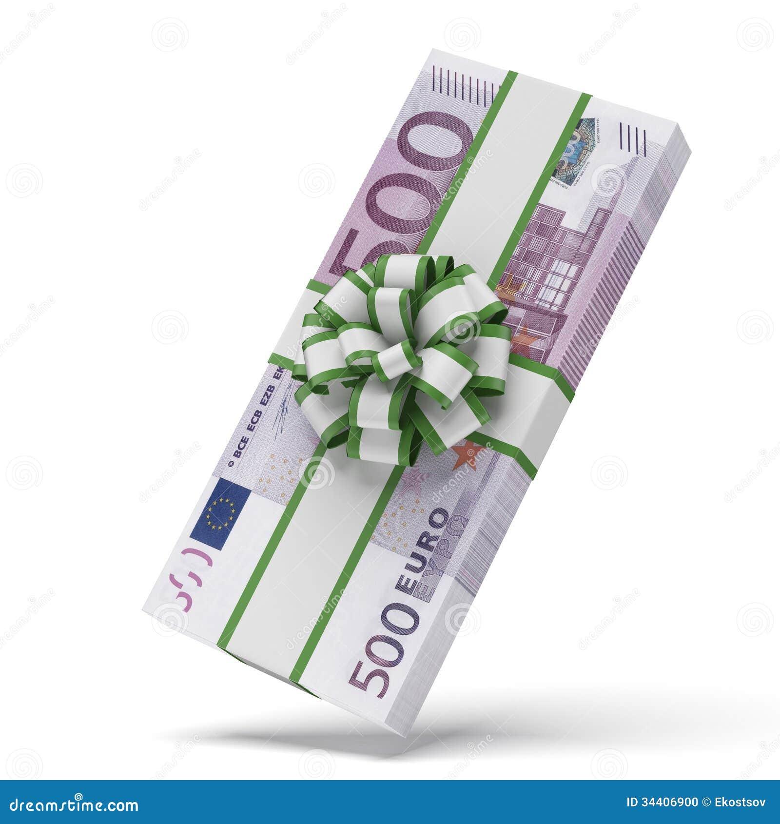Euros avec l arc décoratif