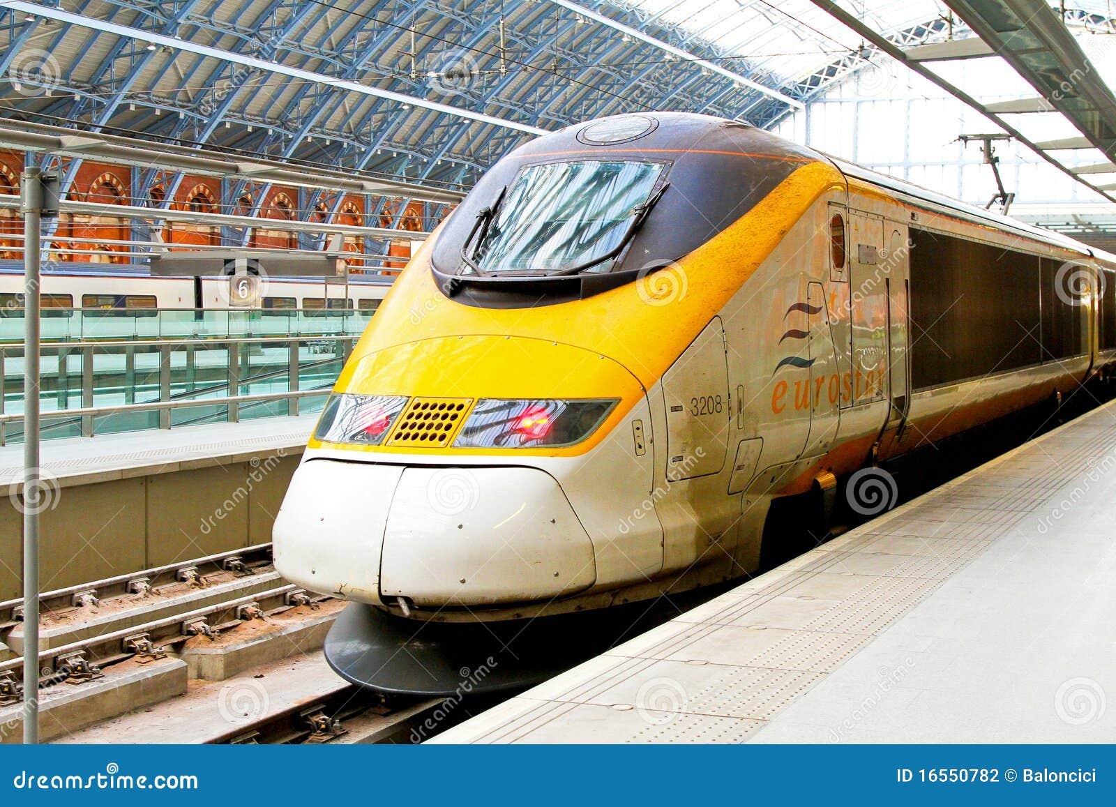 Eurostar platform