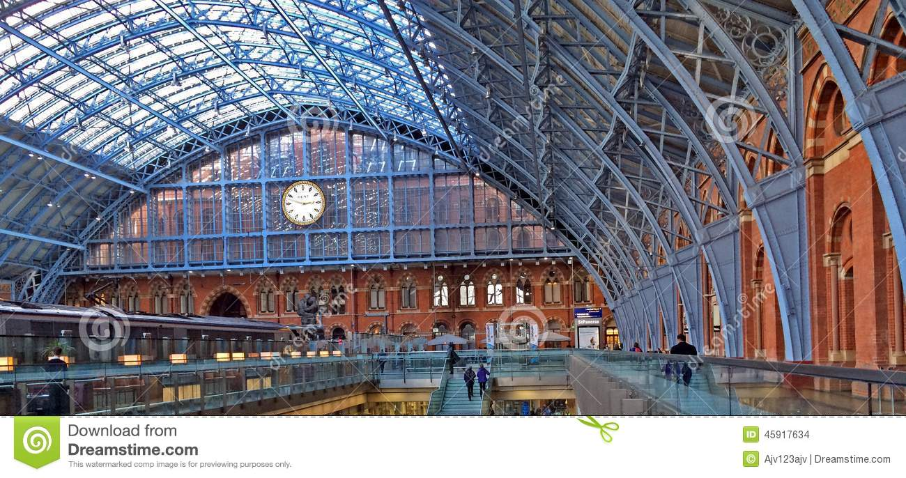 Eurostar St Pancras internationaljärnvägsstation