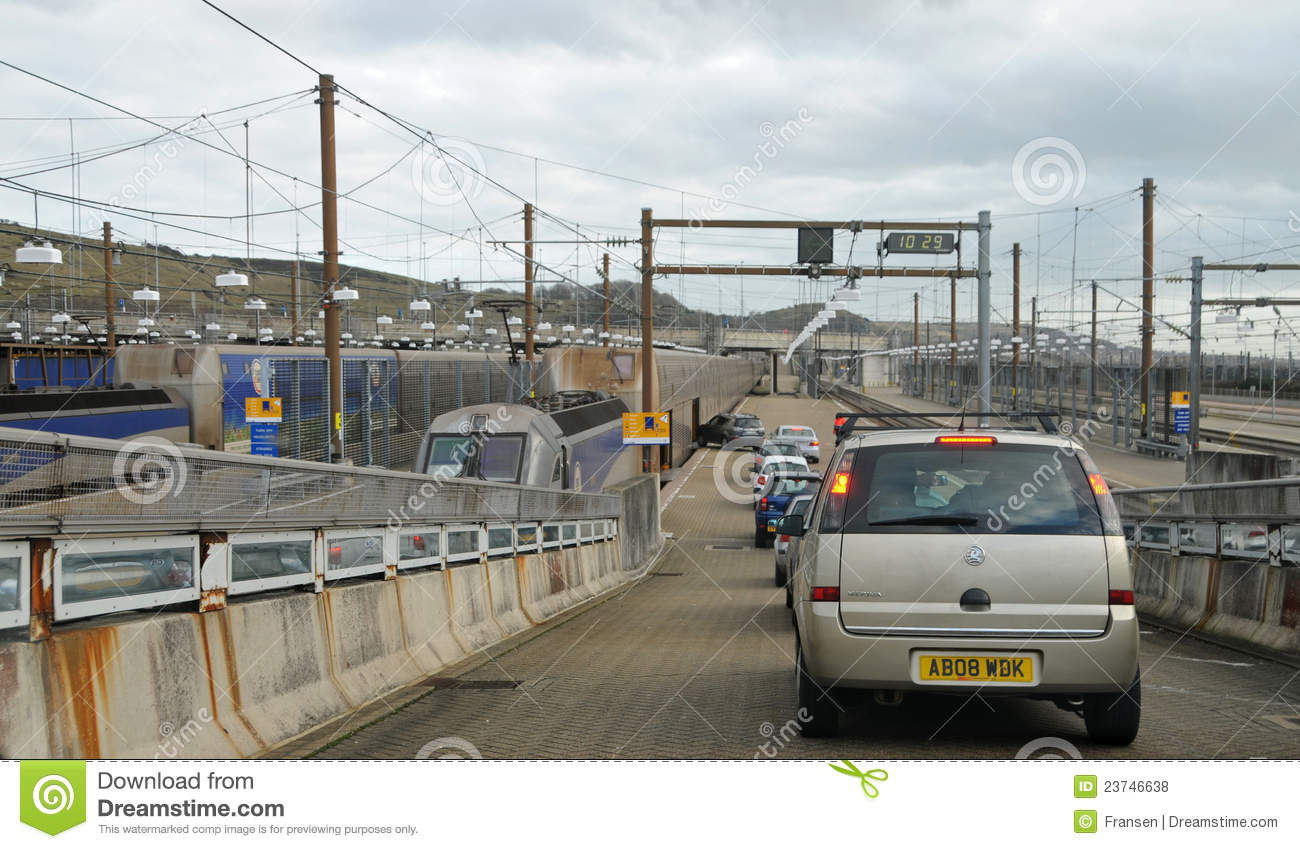French Rail Travel With Car
