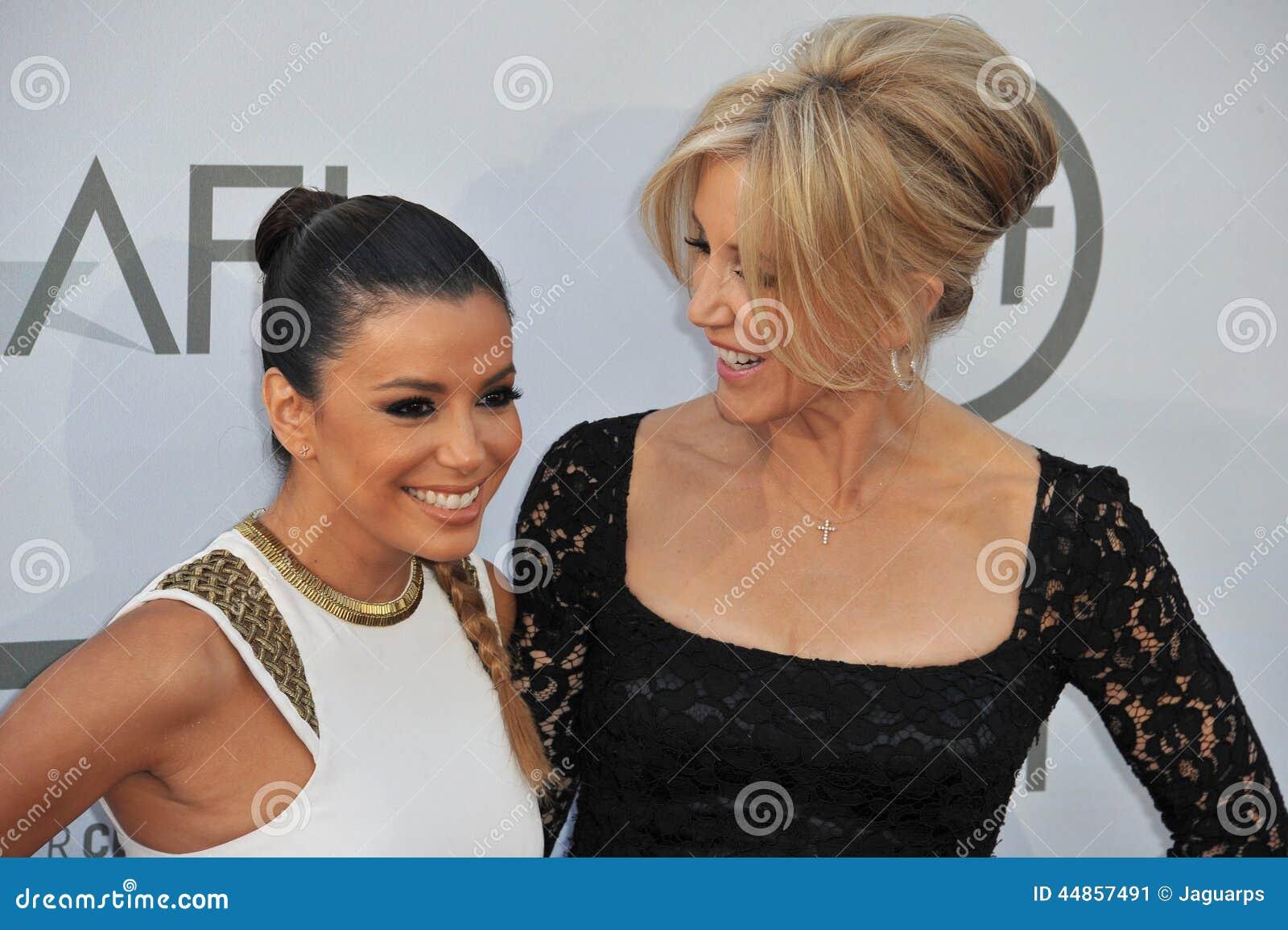 Eva Longoria y Felicity Huffman