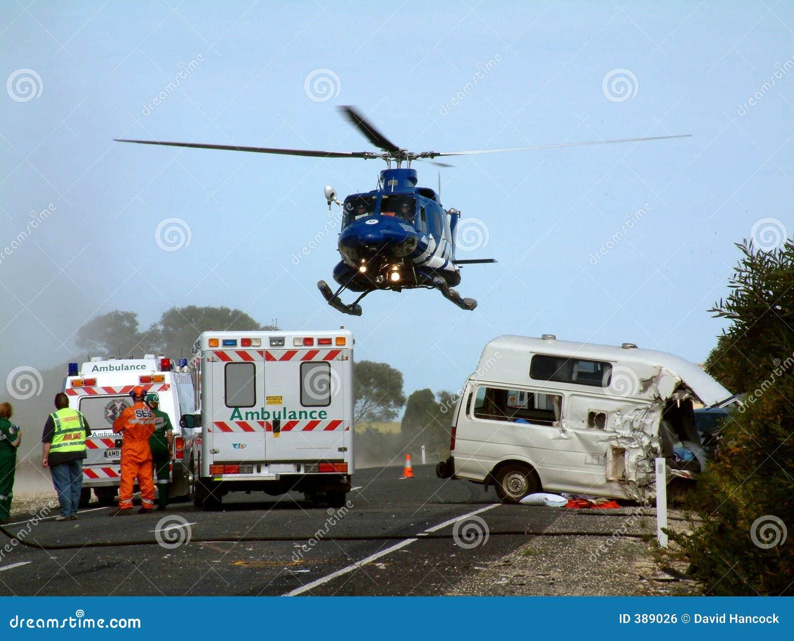 Evacuación de la emergencia