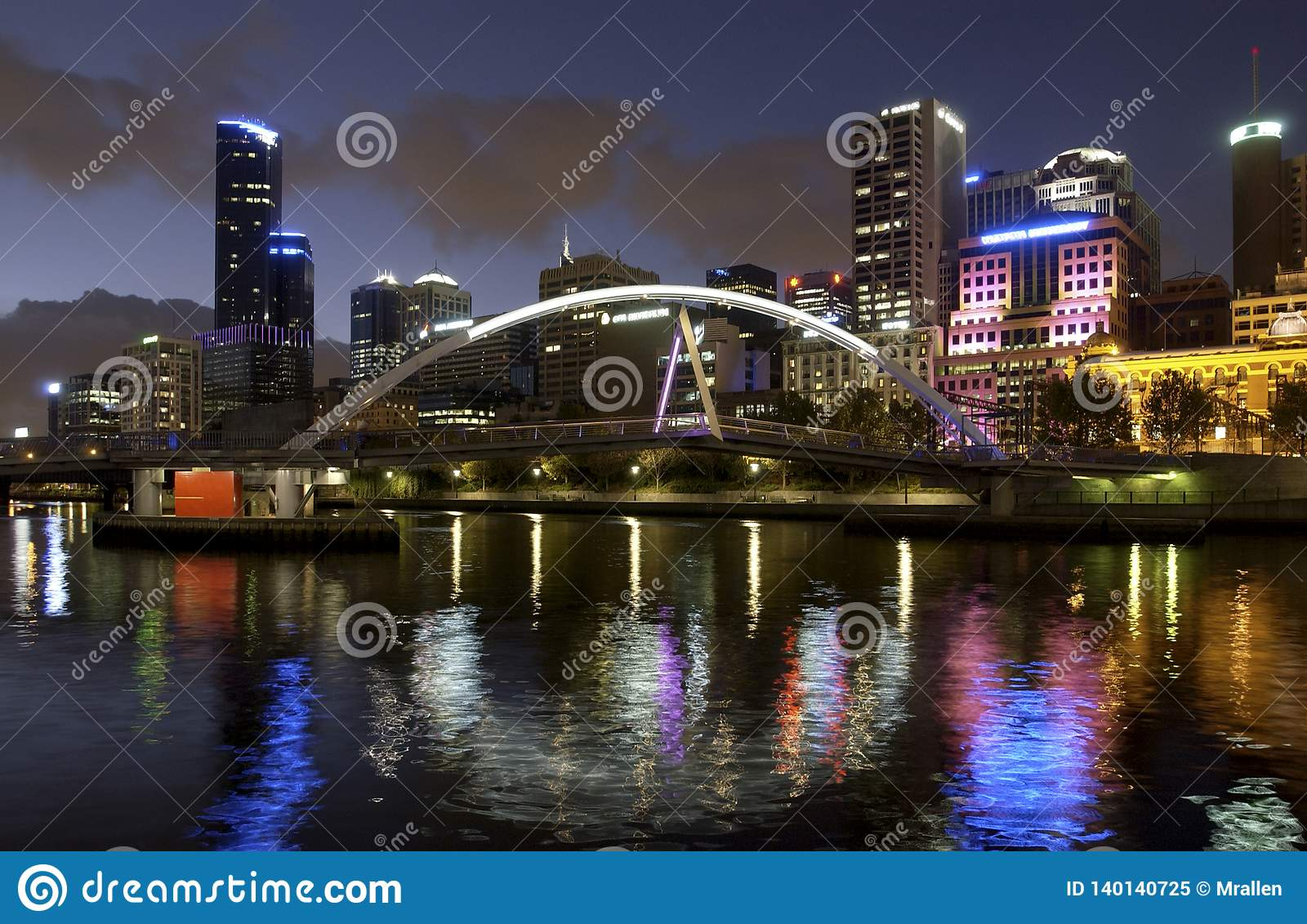 Evan Walker Bridge - Melbourne - Australia