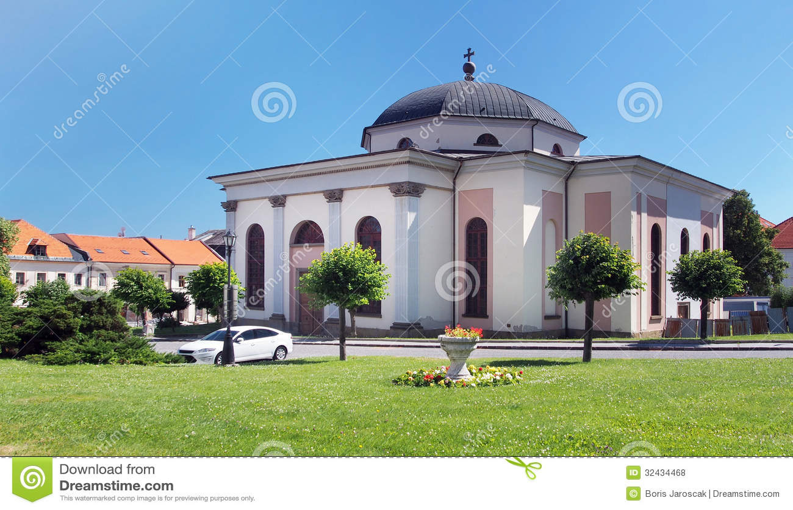 Evangelic church in medieval Levoca