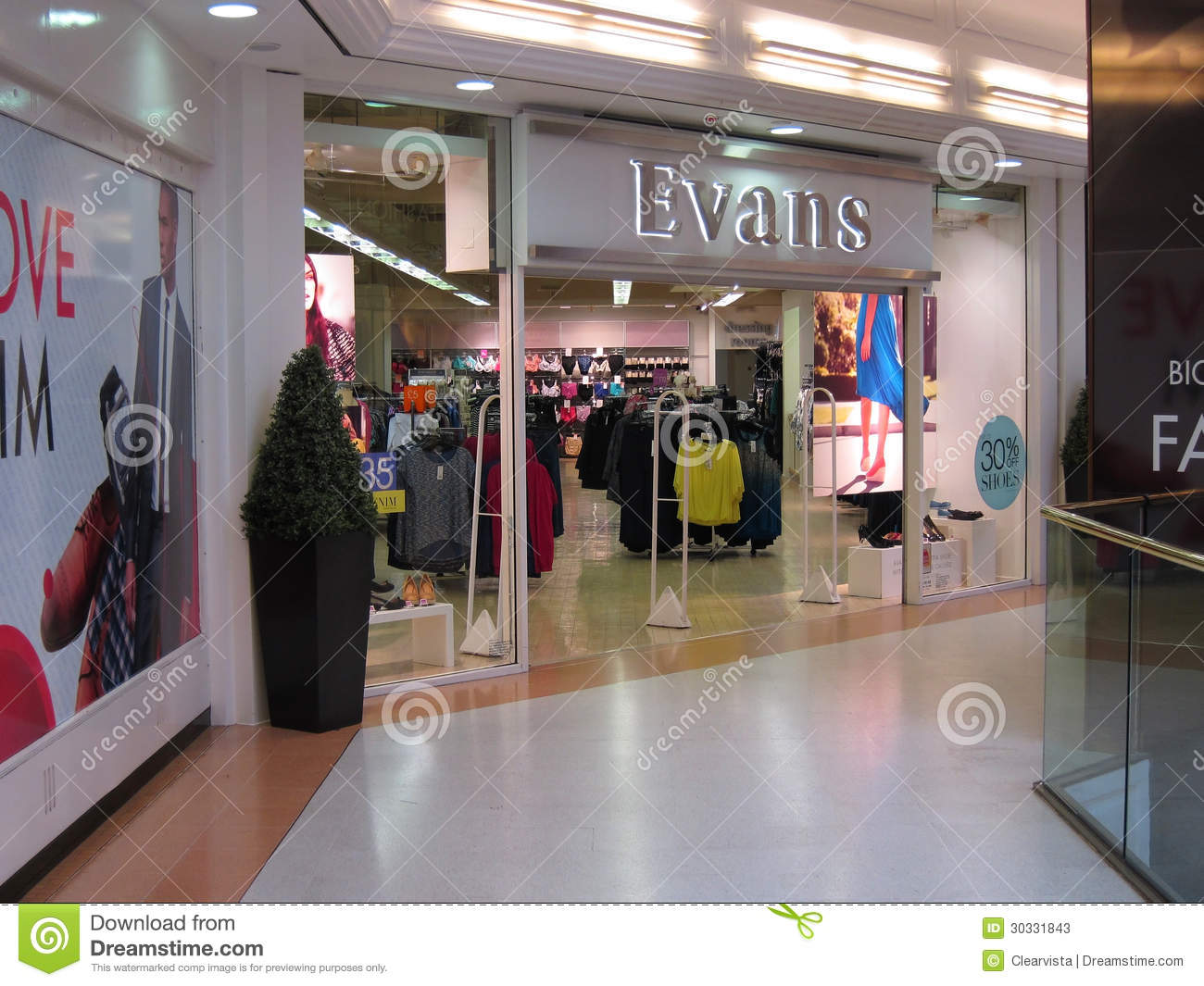 British clothing store