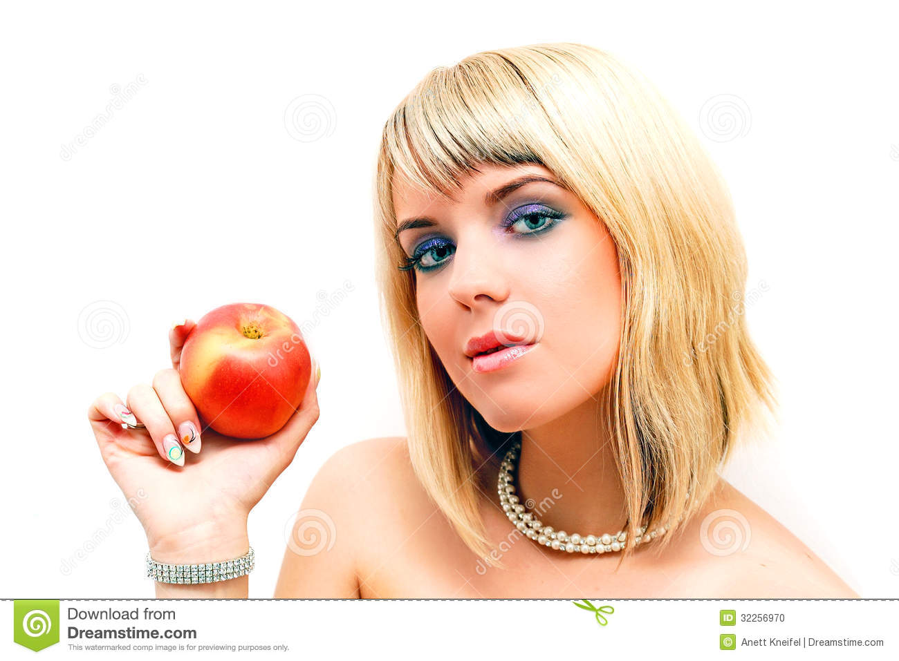 Eve And The Apple Stock Photo - Image: 32256970