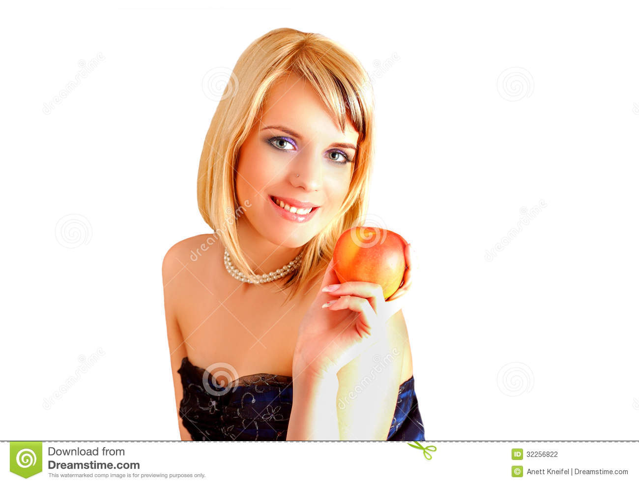 Eve And The Apple Stock Photography - Image: 32256822