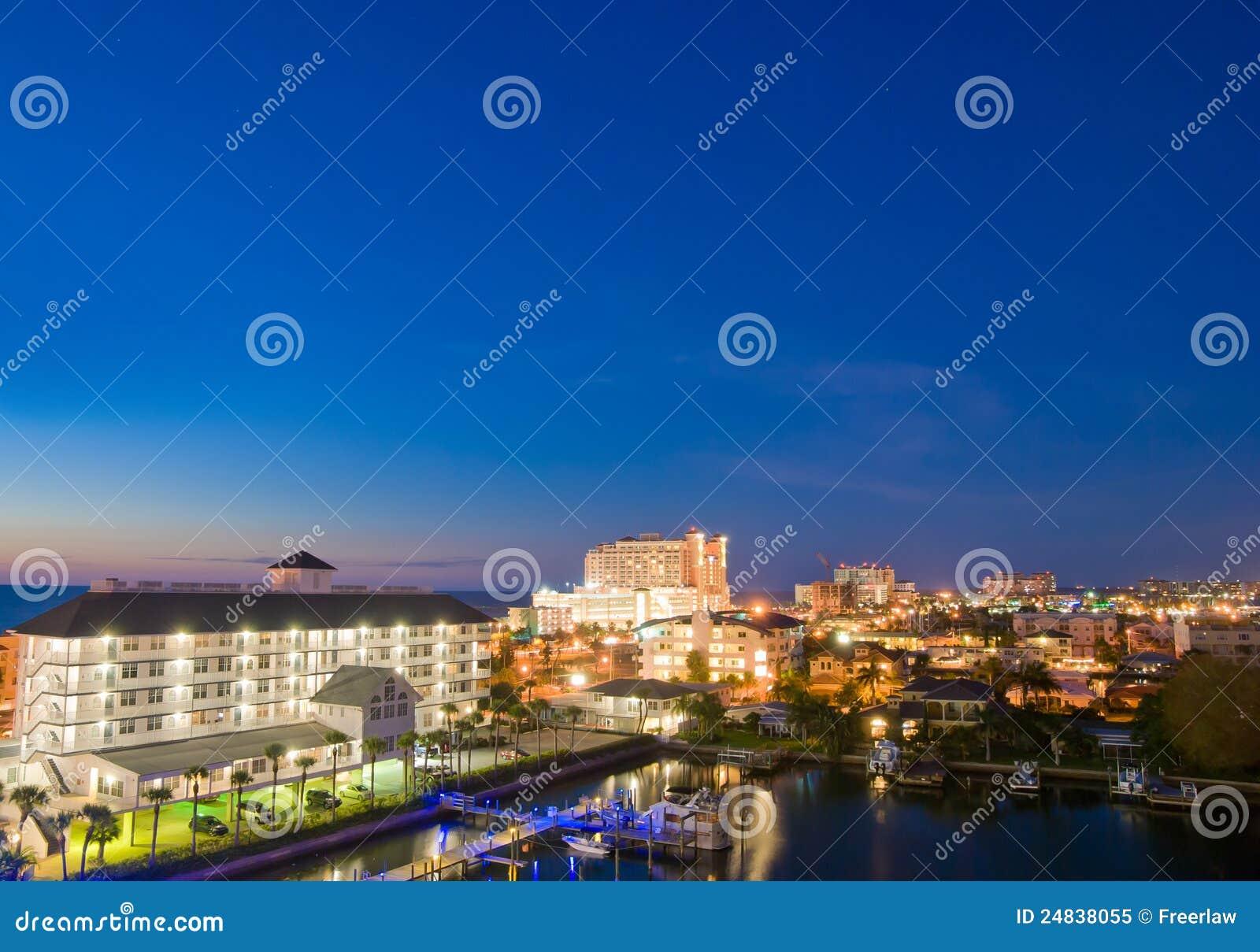 Evenfall del clearwater en Tampa la Florida