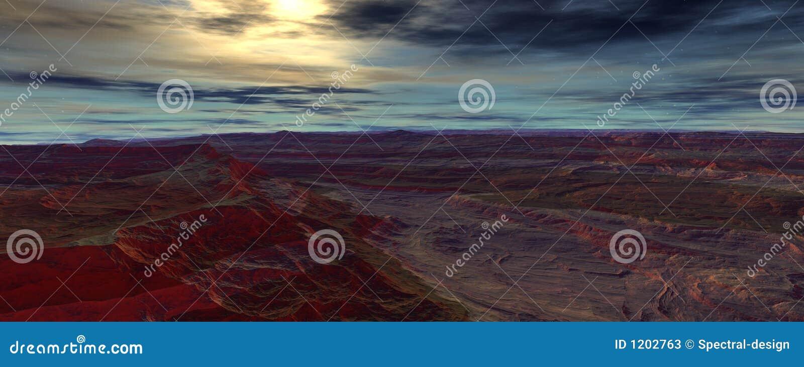 Evening on Centauri