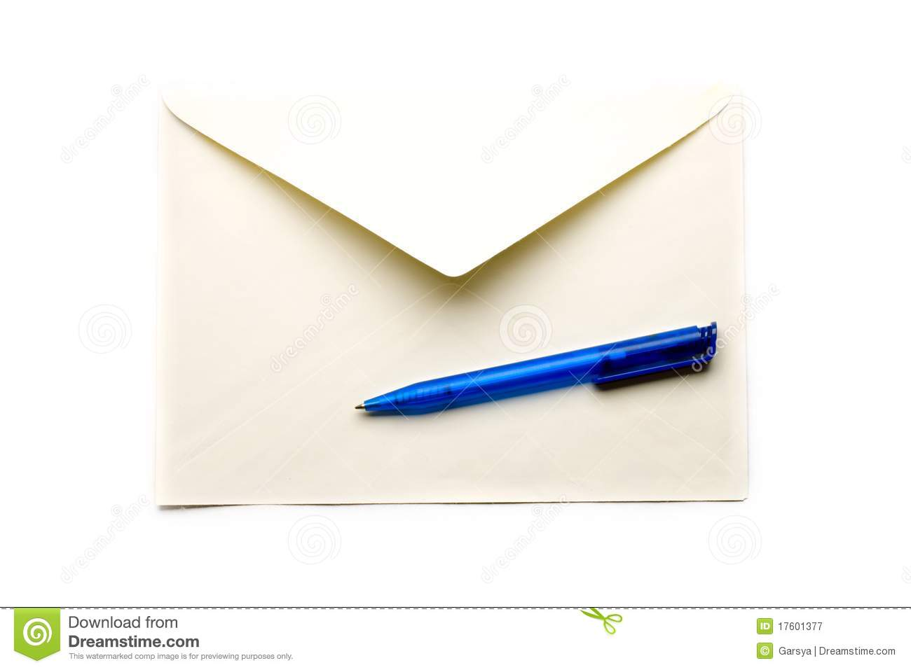 evenlope stock image image of blue express cover mail 17601377
