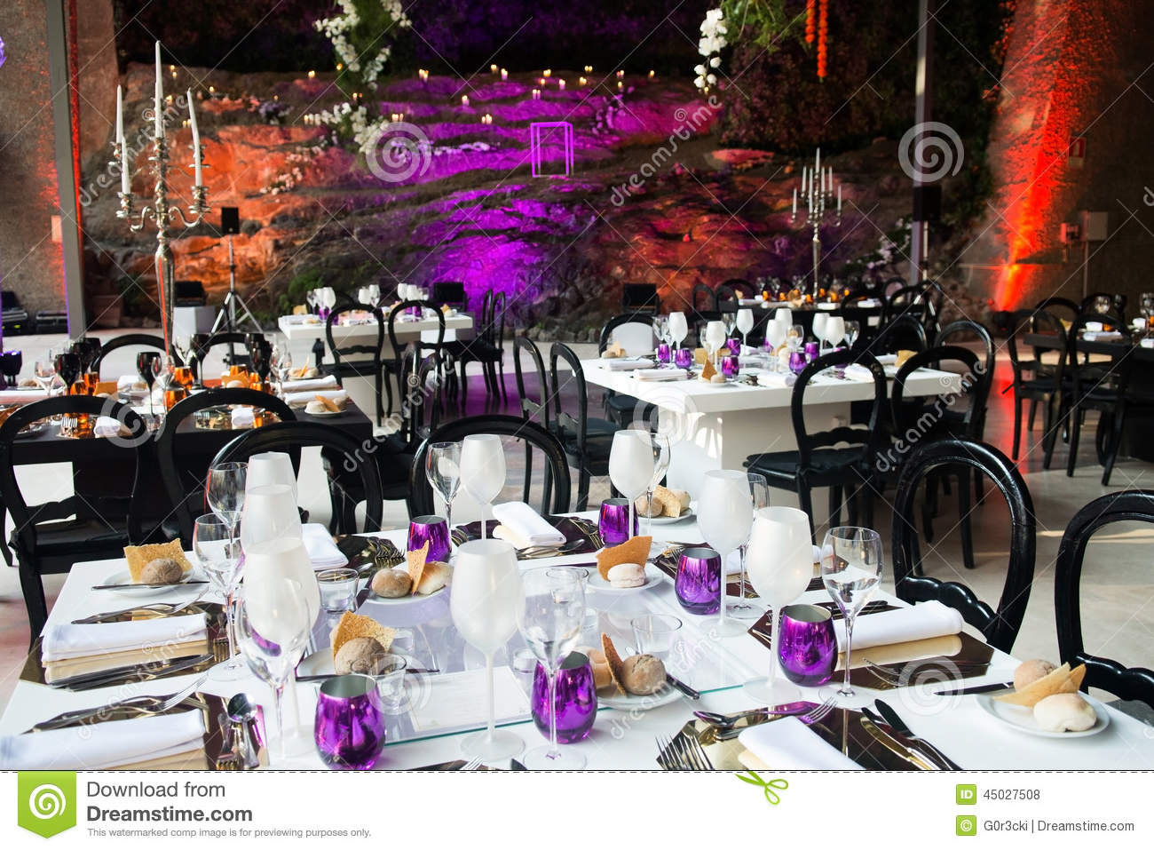 Event Tables Decoration Wedding Dinner Party Stylish