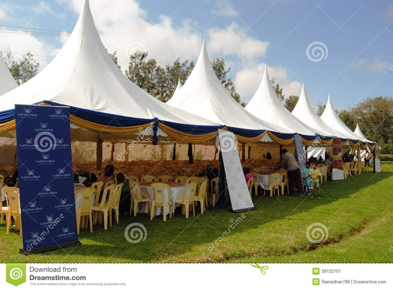 Event Management and provision of tent services in Nairobi Kenya & Event Management Tents Nairobi Kenya Editorial Photo - Image of ...