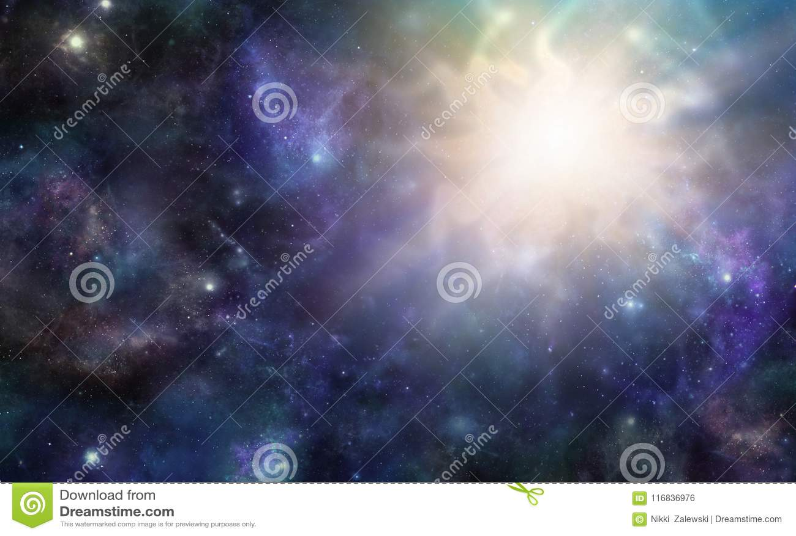 Evento cósmico maciço do espaço profundo