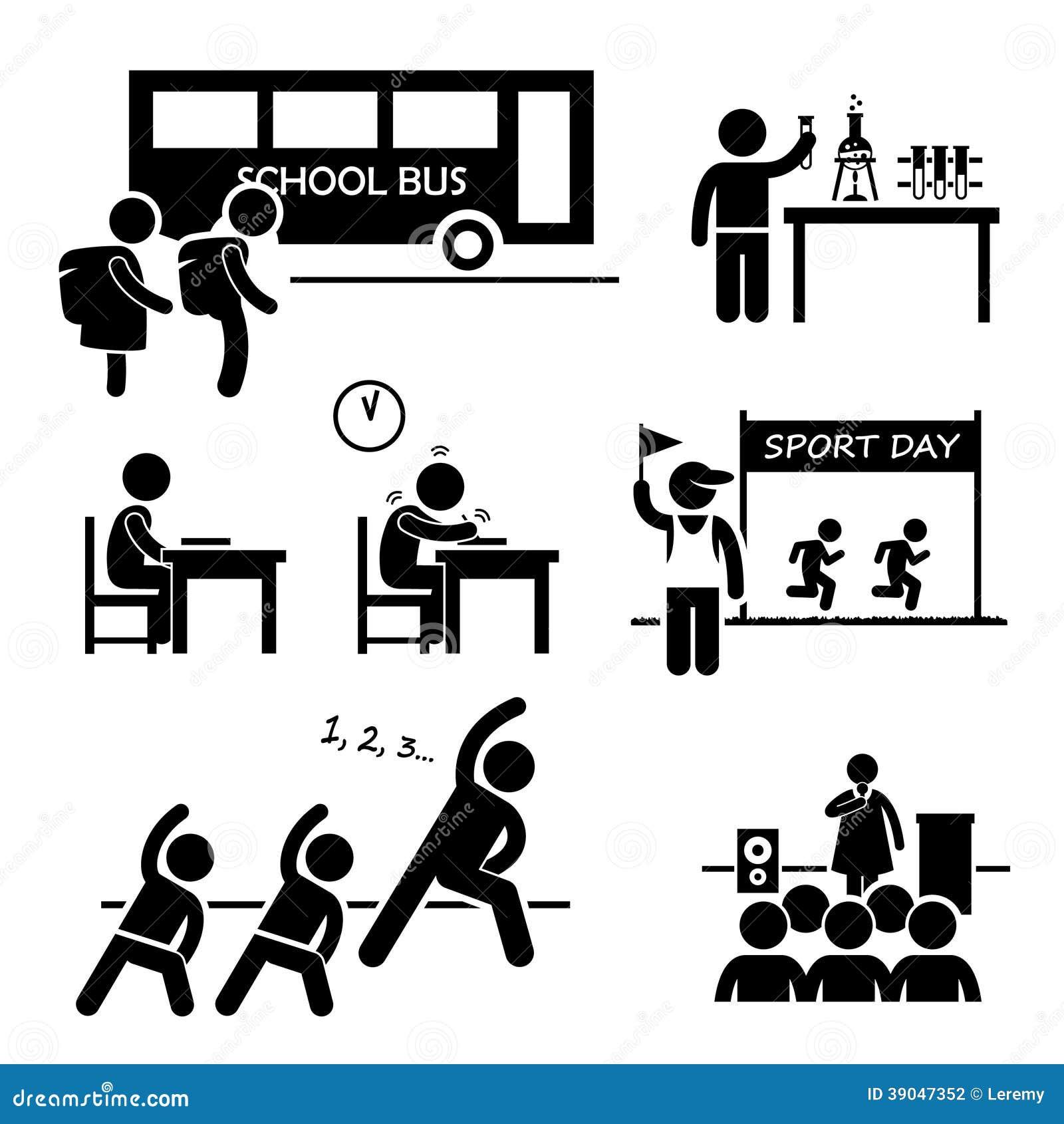 Evento De La Actividad De Escuela Para El Estudiante Clipart ... d2183e9dcb0