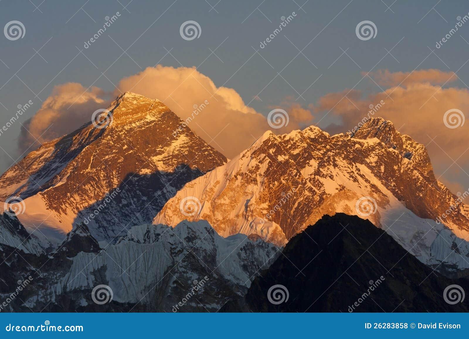 Everest van Kala Pattar.