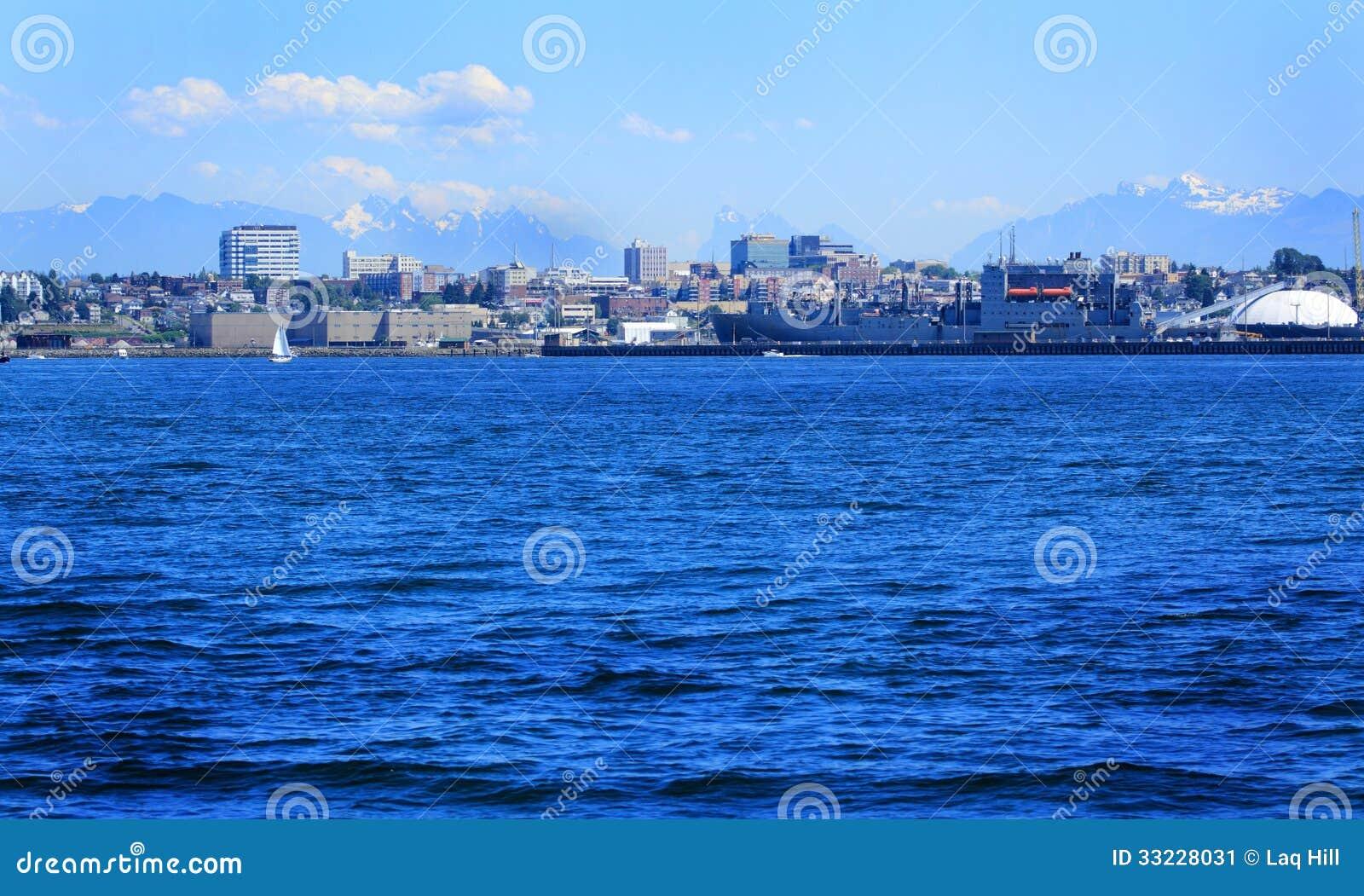 Everett Washington Skyline