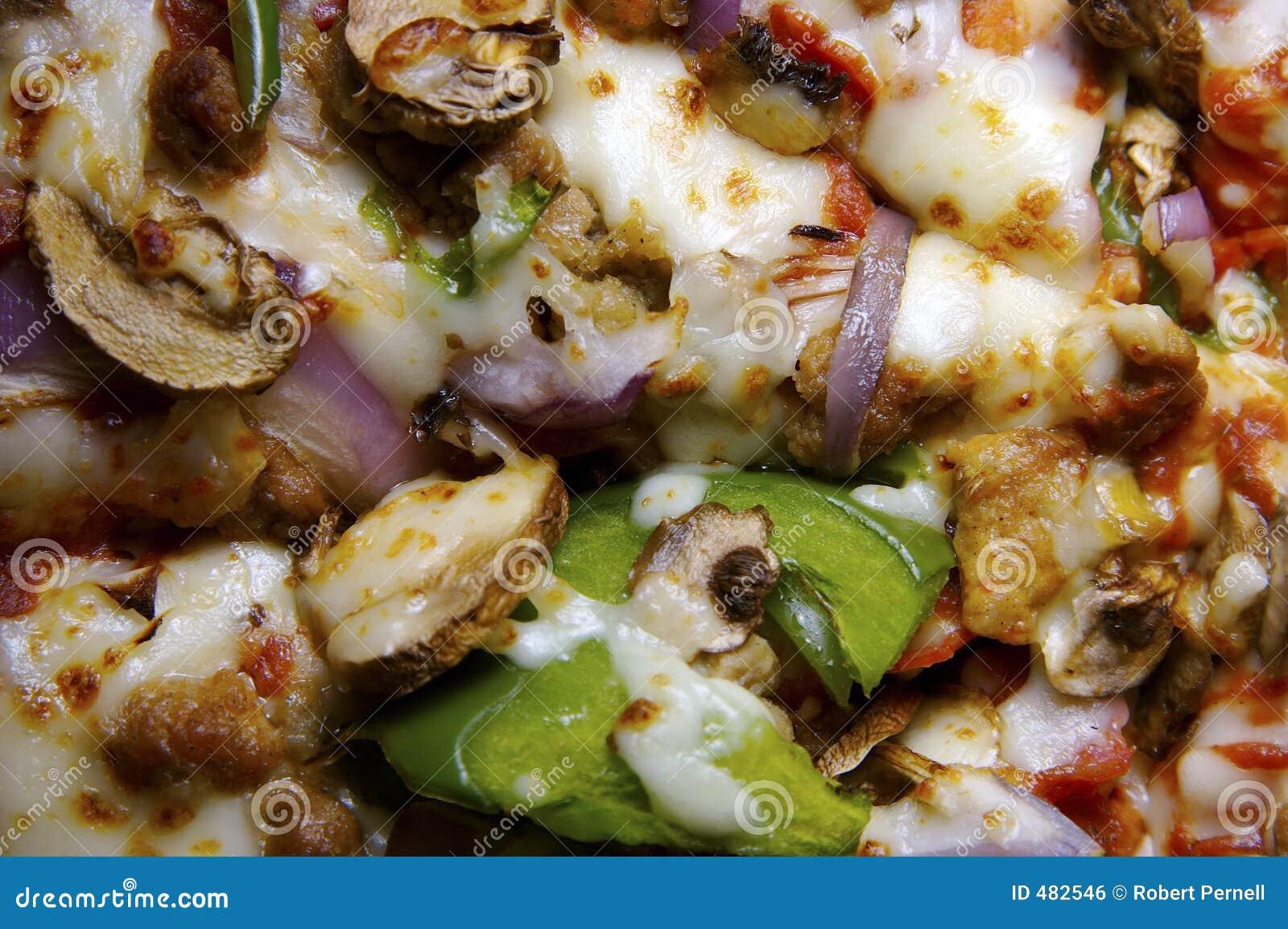Everthing pizza för bakgrund
