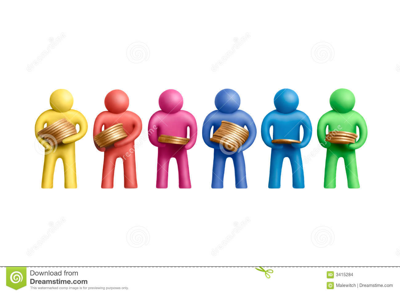 0ebe20af7ef Everybody is different 1 stock photo. Image of benefit - 3415284