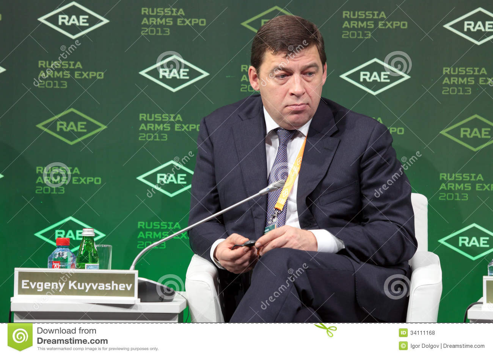 Evgeny Kuyvashev Editorial Stock Photo - Image: 34111168