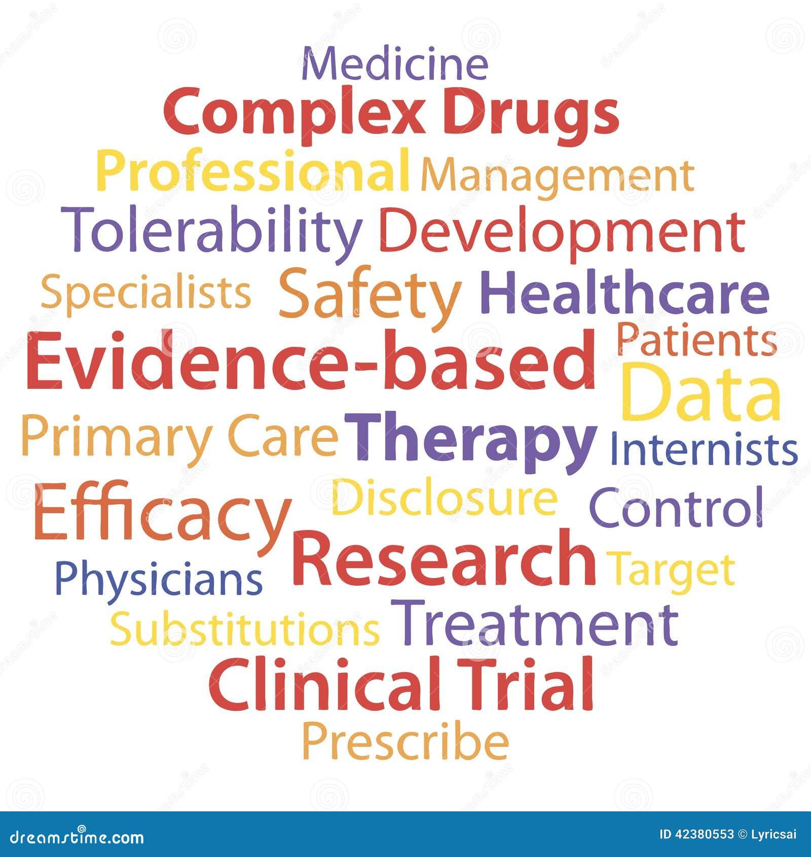 Medicine: Evidence-based Medicine Stock Photo