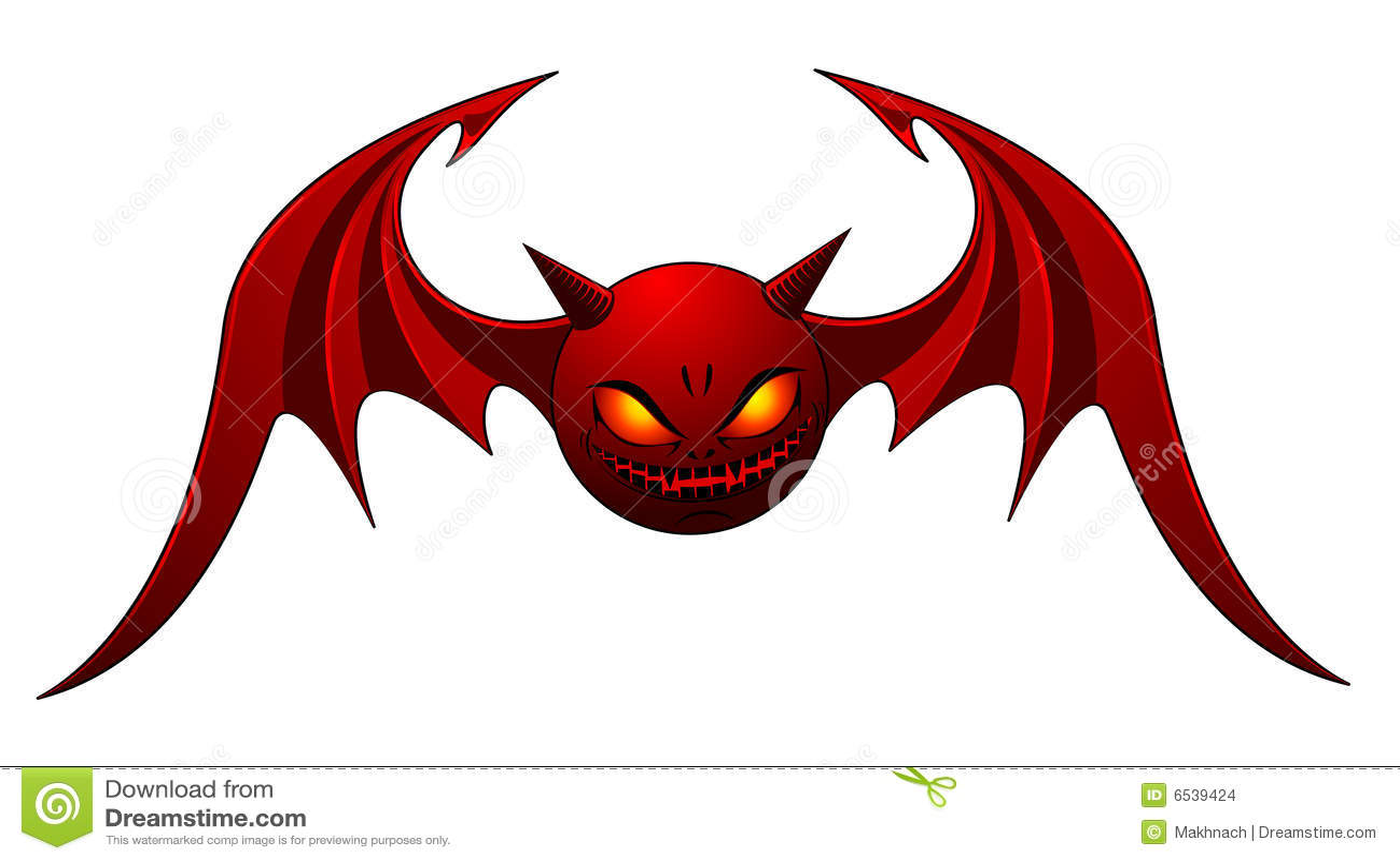 Evil Bat Stock Images - Image: 6539424