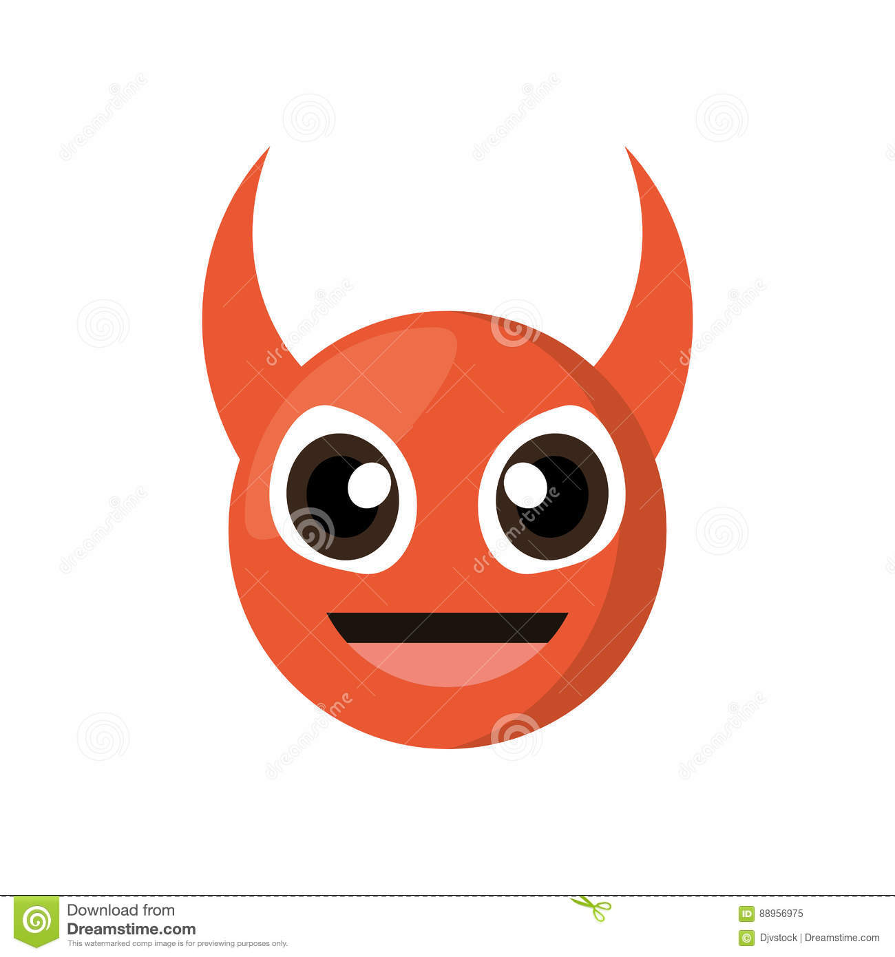 Evil Laugh Emoticon Cartoon Vector | CartoonDealer.com ...