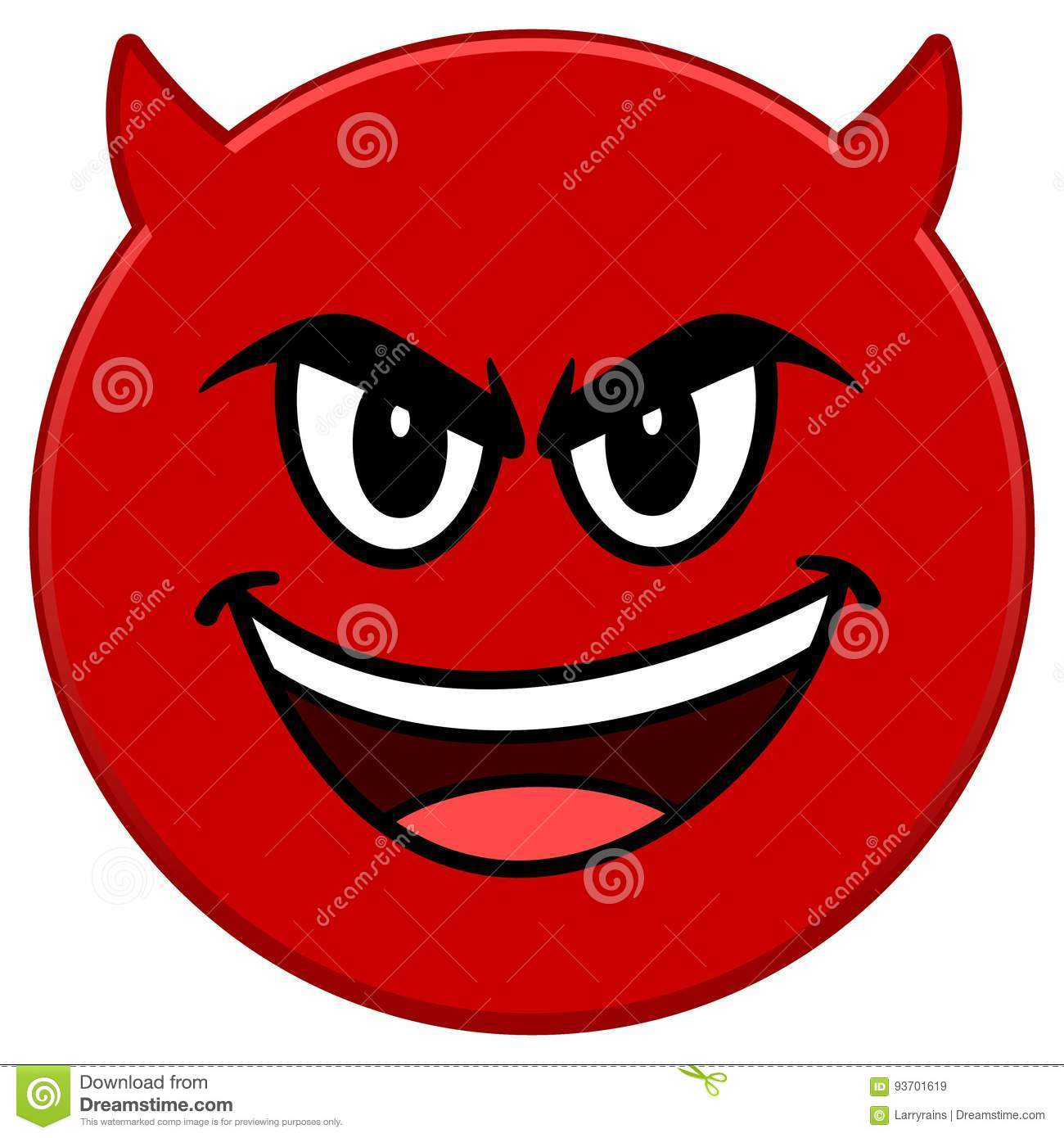 cb6bd81519e8 Evil Emoticon Stock Illustrations – 2