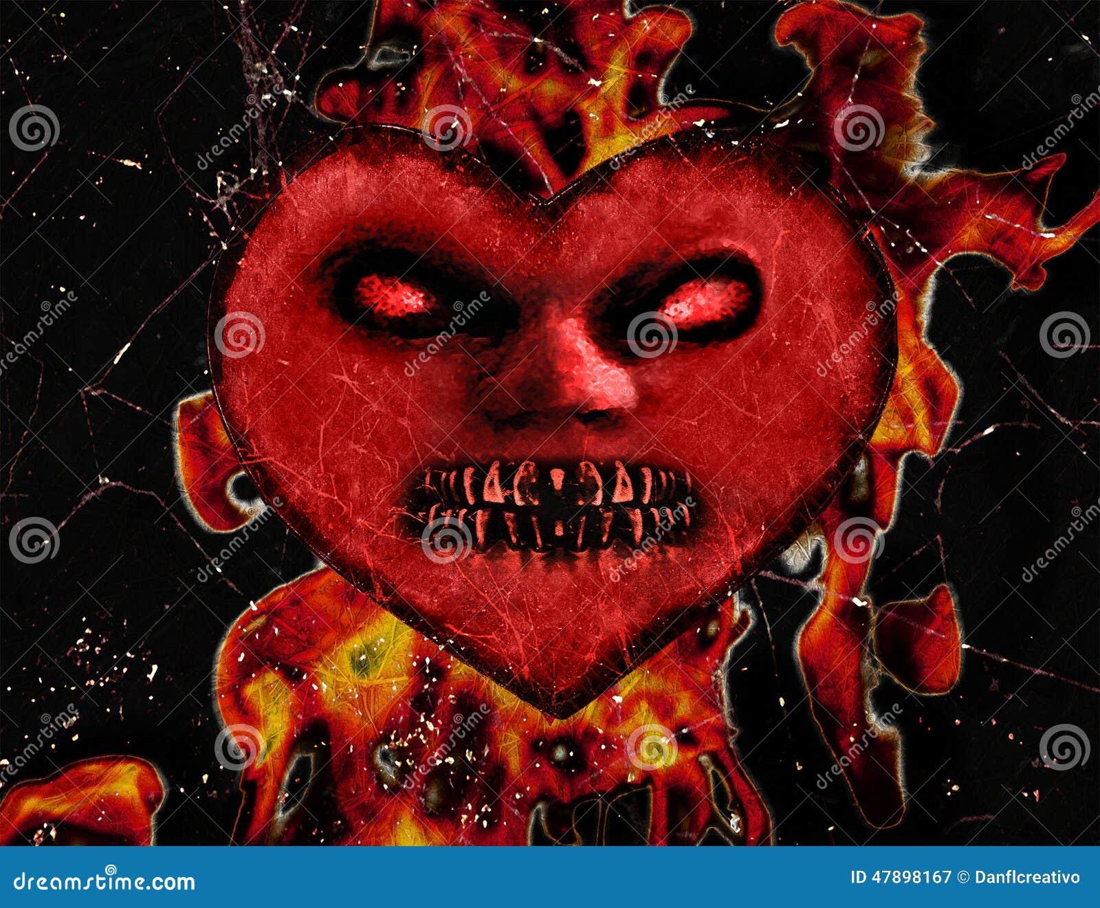 Evil Heart Wallpaper