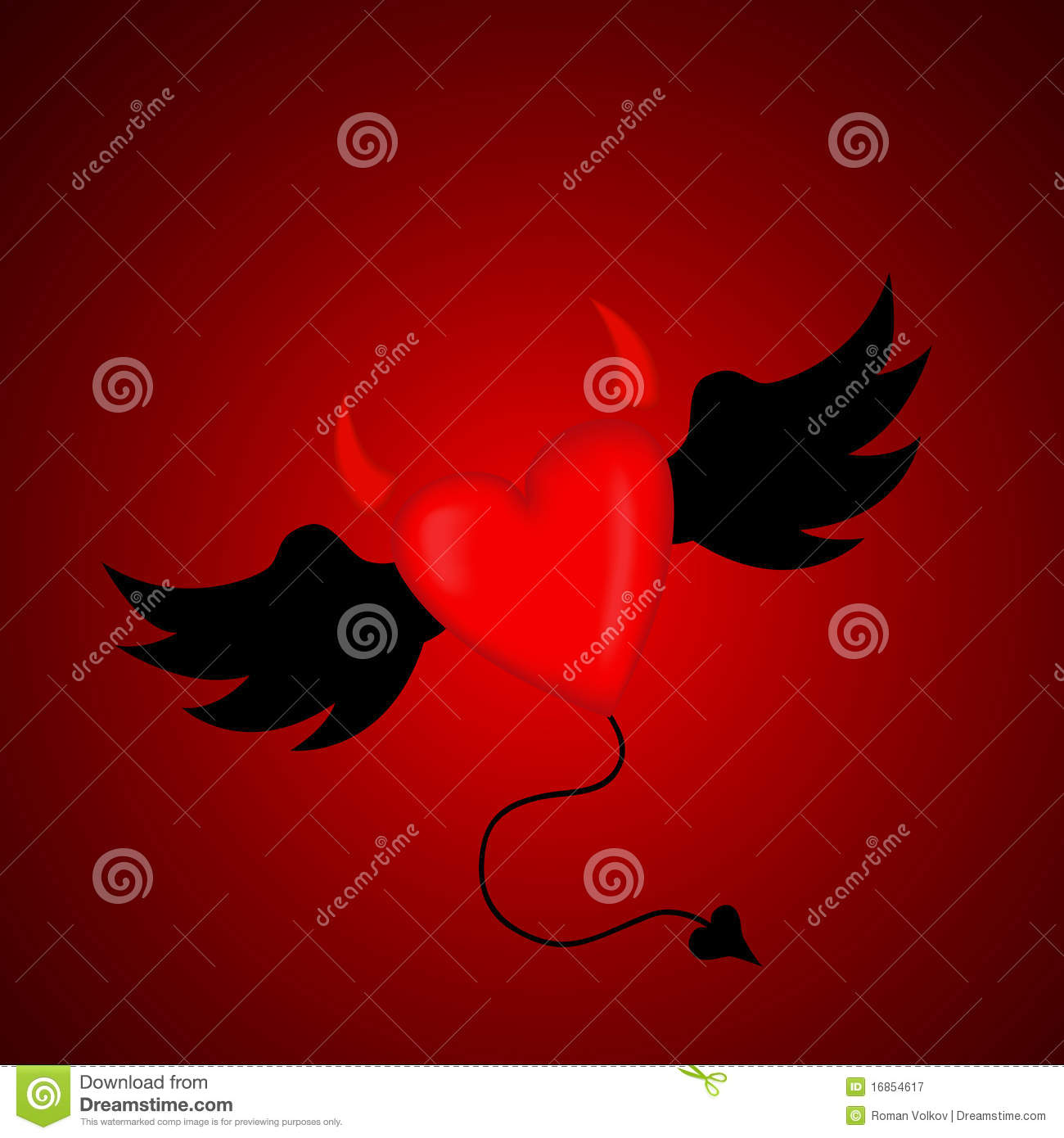 Evil Heart Photos http://www.dreamstime.com/royalty-free-stock-photography-evil-horned-heart-image16854617