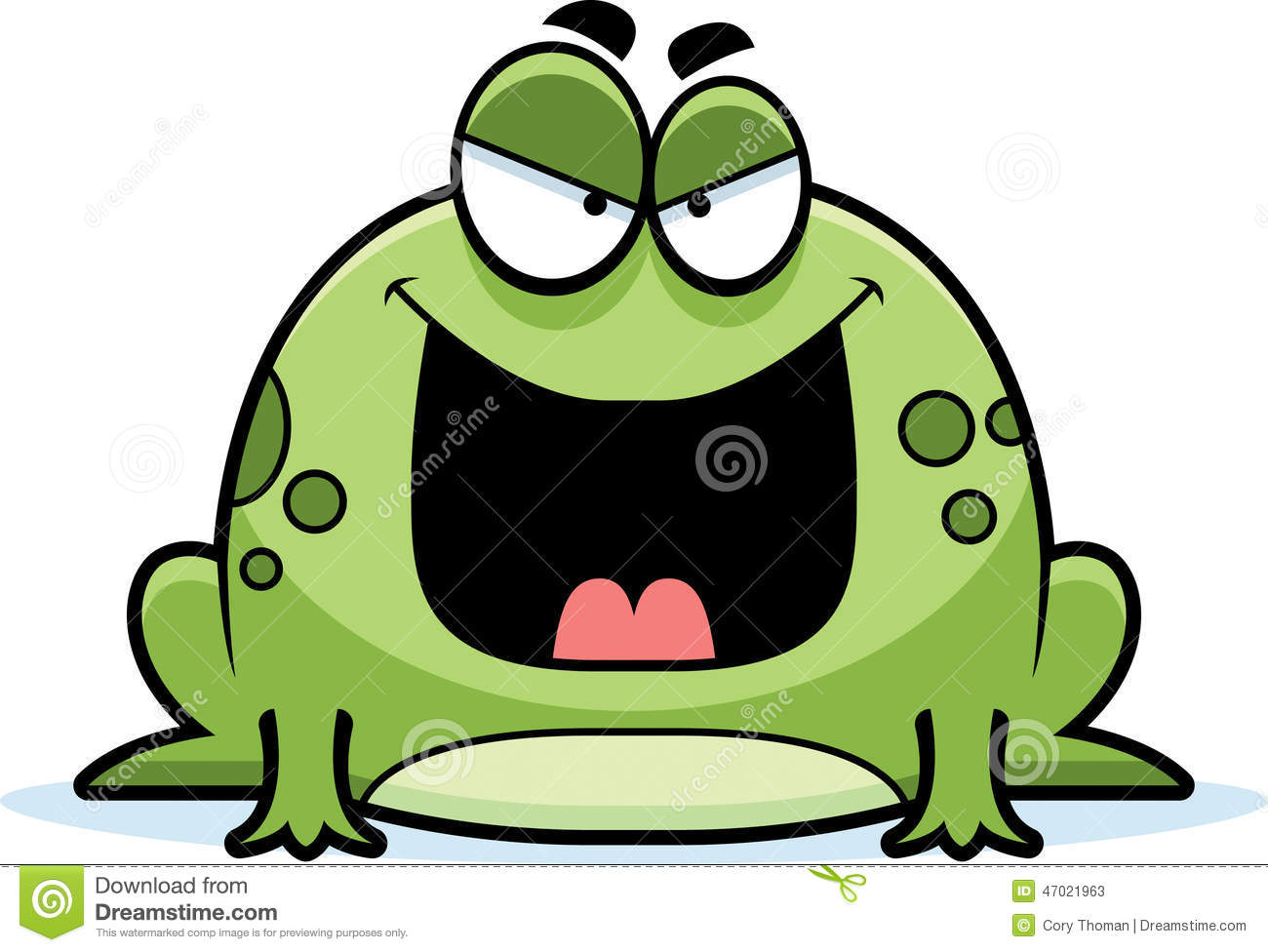 evil little frog stock vector image 47021963 Cute Green Frog frog and toad together clipart