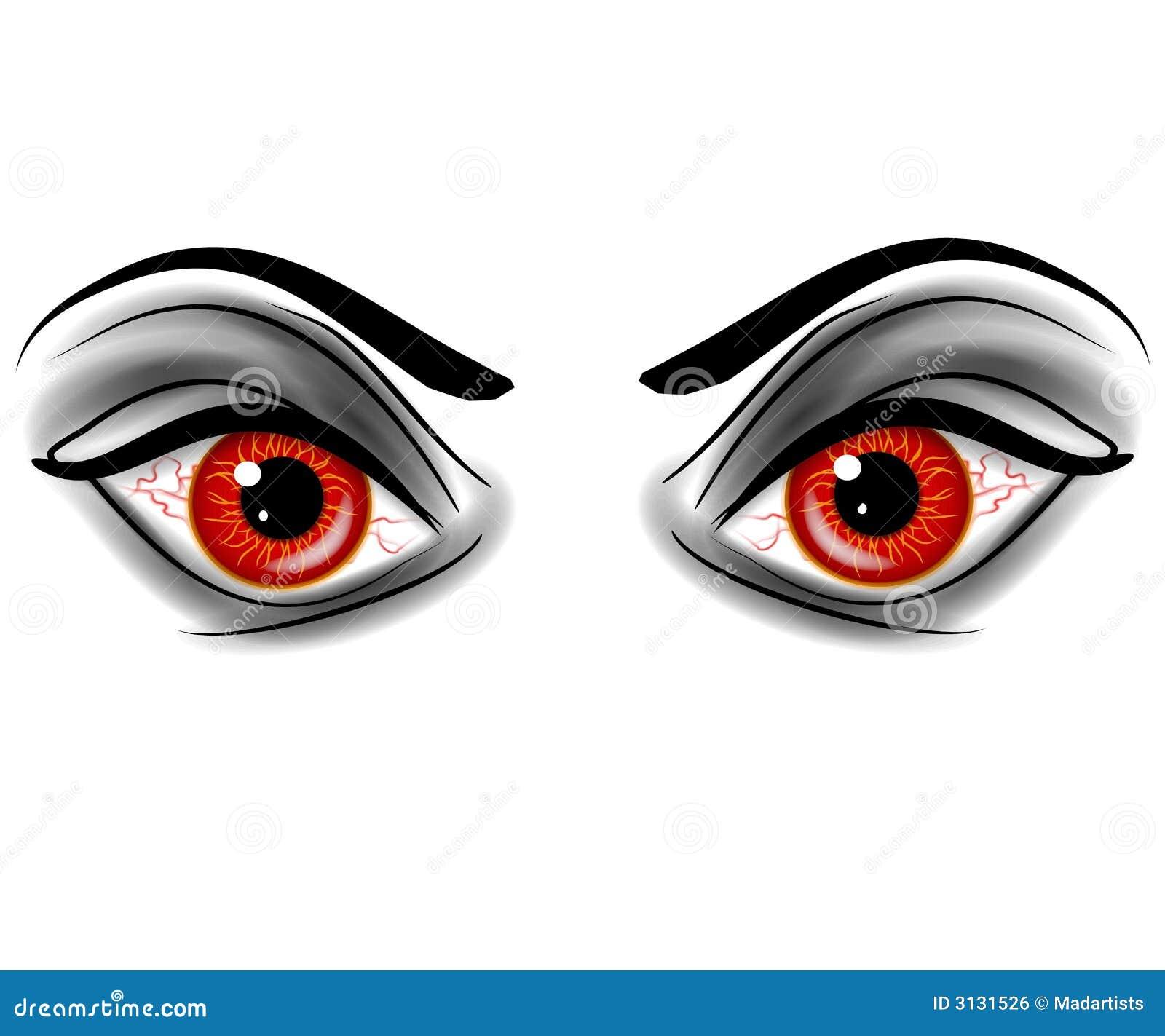 evil red devil demonic eyes royalty free stock image image 3131526 yarn clip art images yarn clip art black and white crochet balls