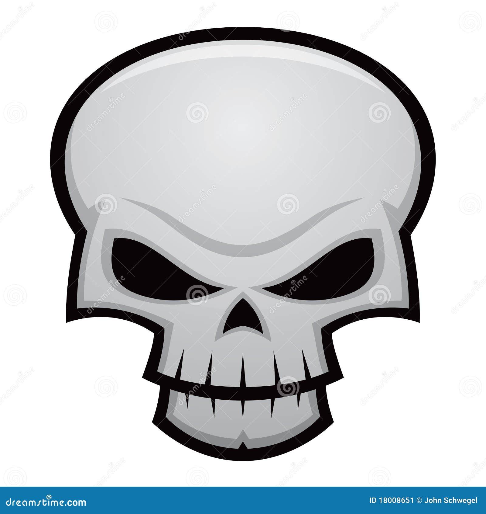 Evil Skull And Crossbones Evil skull
