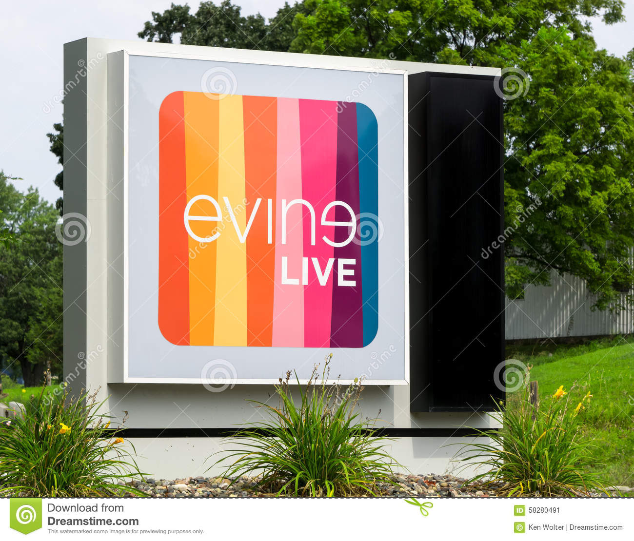 Evine live corporate headquarters and sign evine live is a cable