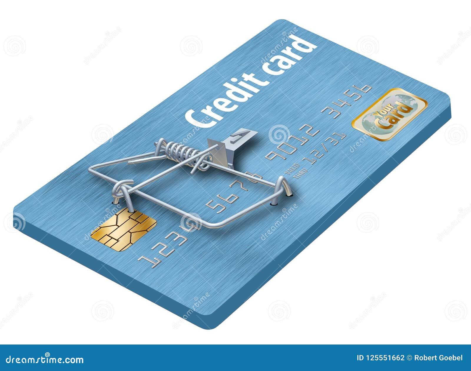 Evite las trampas de la tarjeta de crédito, como ésta que parece una tarjeta de crédito dada vuelta en una ratonera