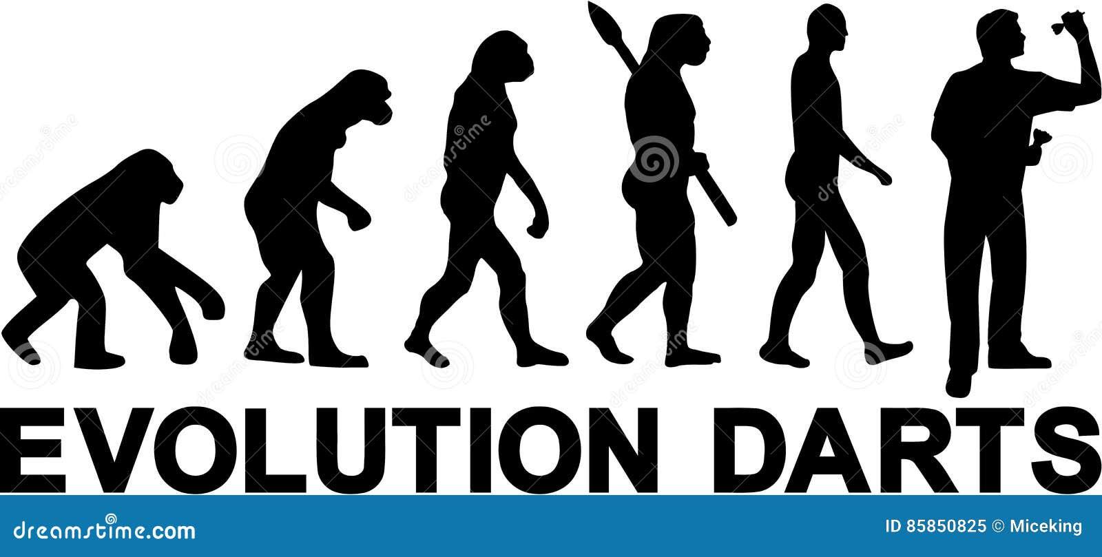 Evolución de los dardos
