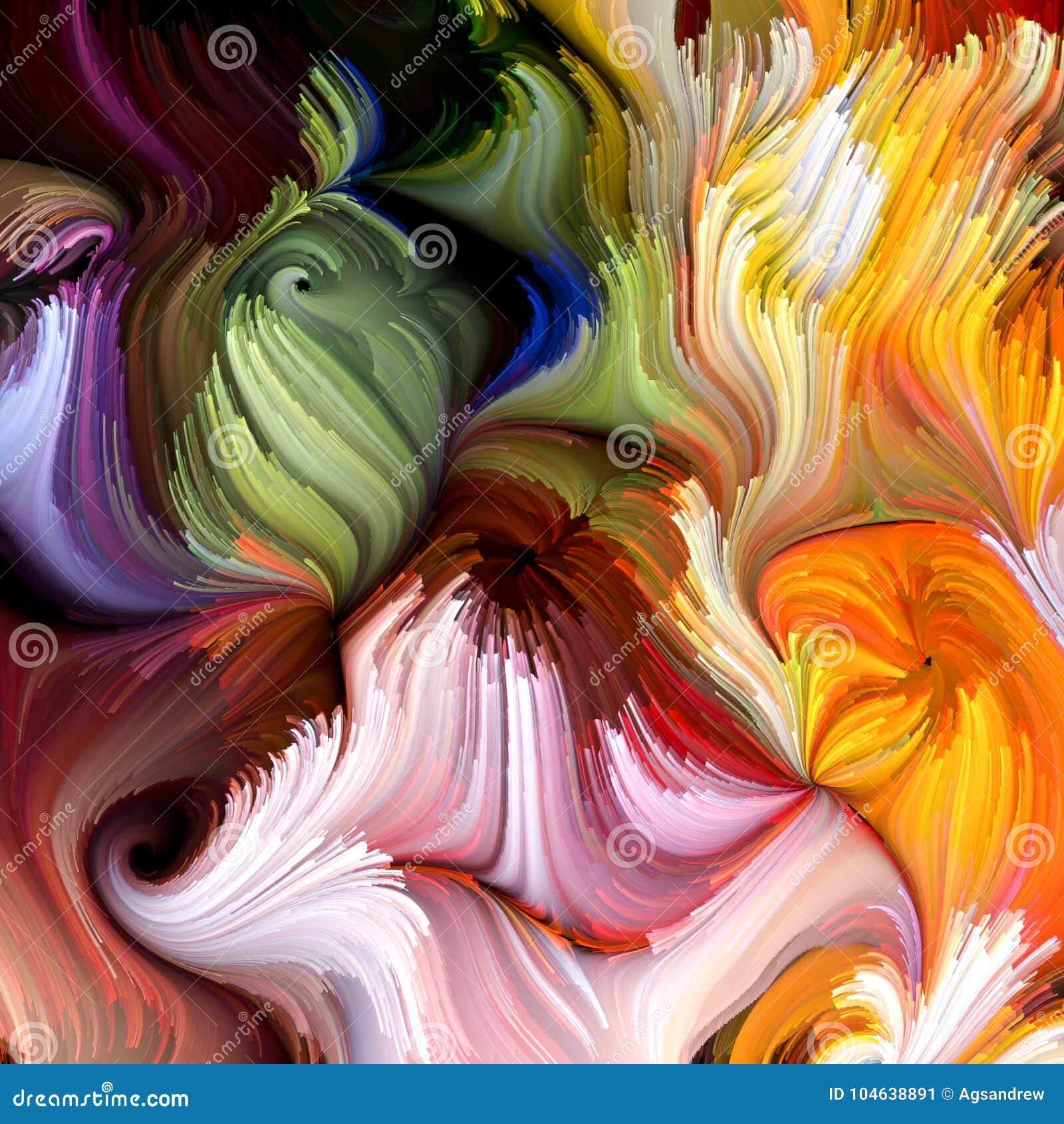 Evoluerende Vloeibare Kleur