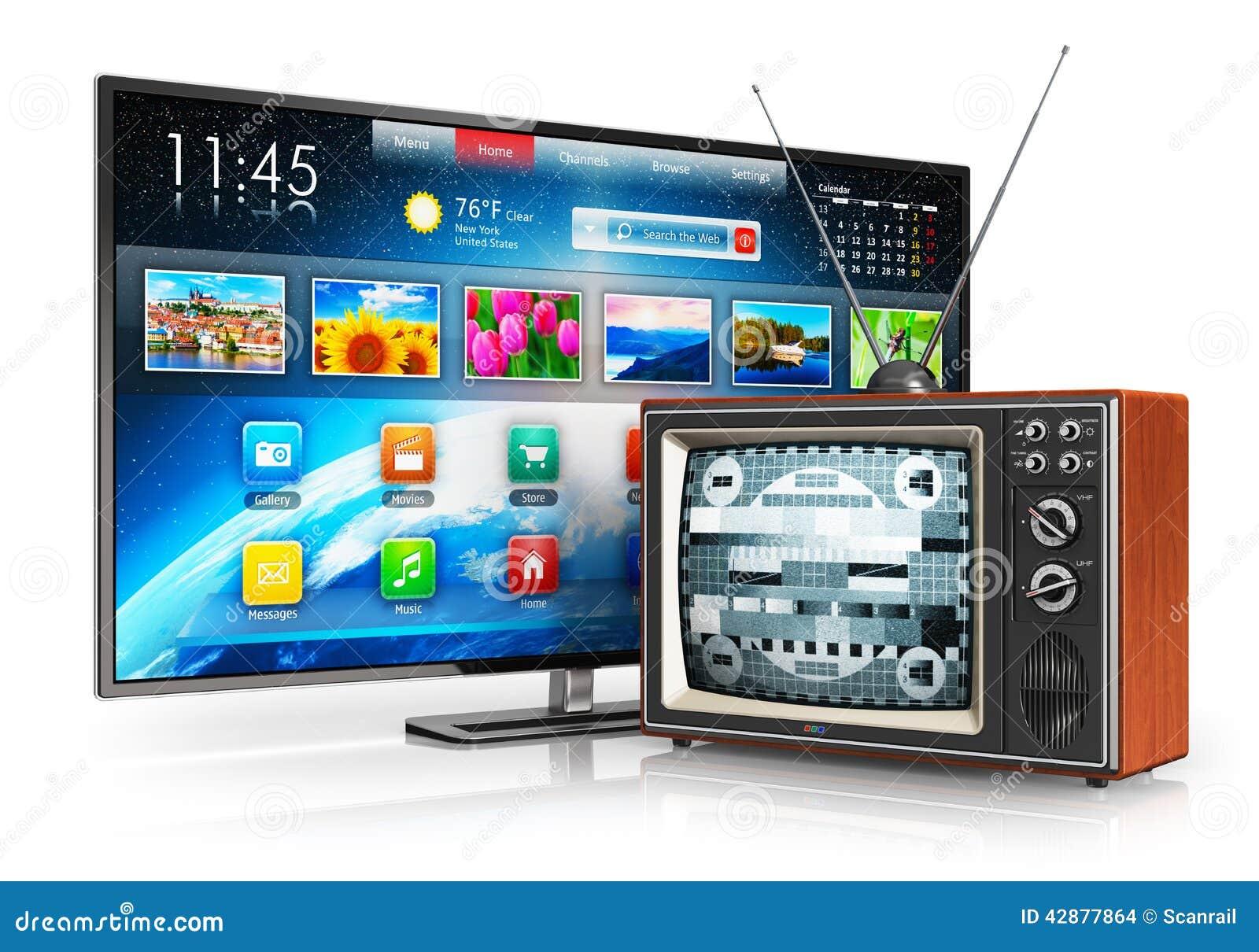 Evolution av television