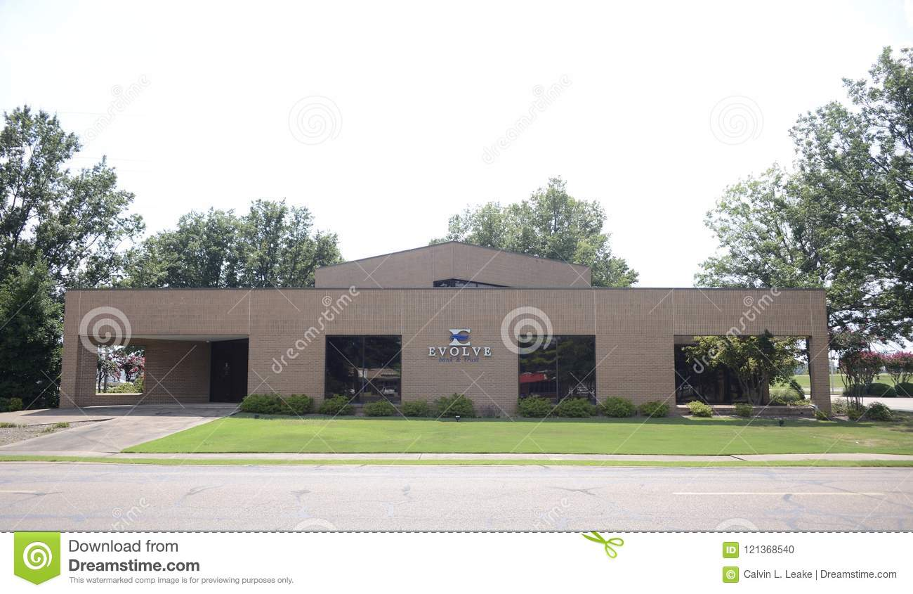 Bank Of The West Auto Loan >> Evolve Bank West Memphis Arkansas Editorial Image Image Of