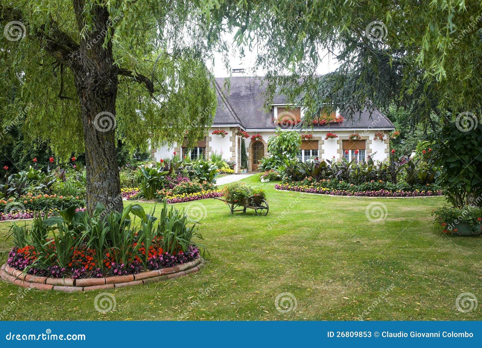 Evron House And Garden Stock Photos Image 26809853