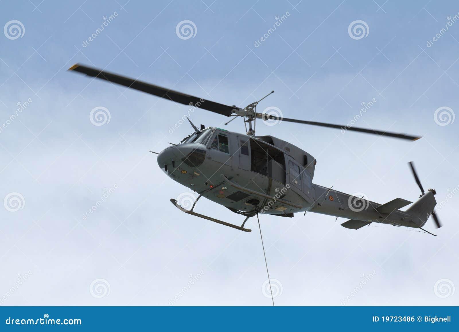 Ewakuacyjny helikopter