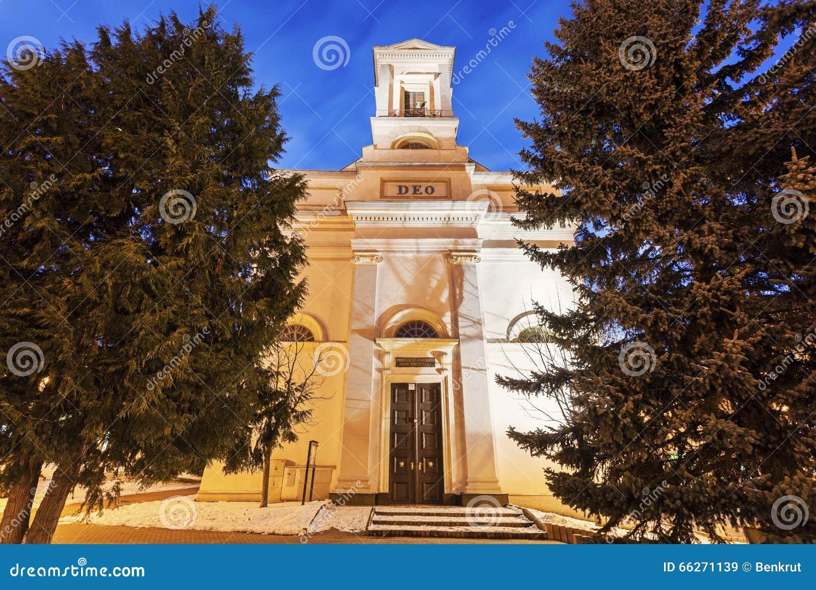Ewangelicki kościół w Poprad