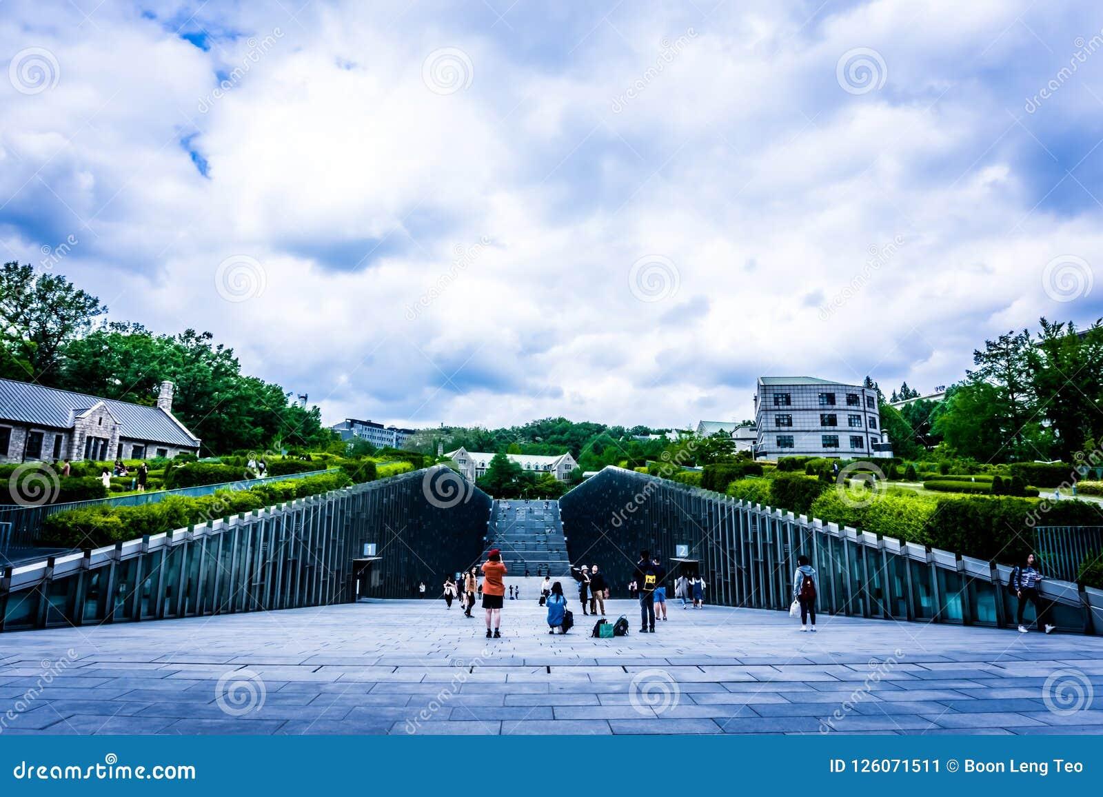 Ewha kobiety uniwersytet - Intymny kobiety ` s uniwersytet w Seul