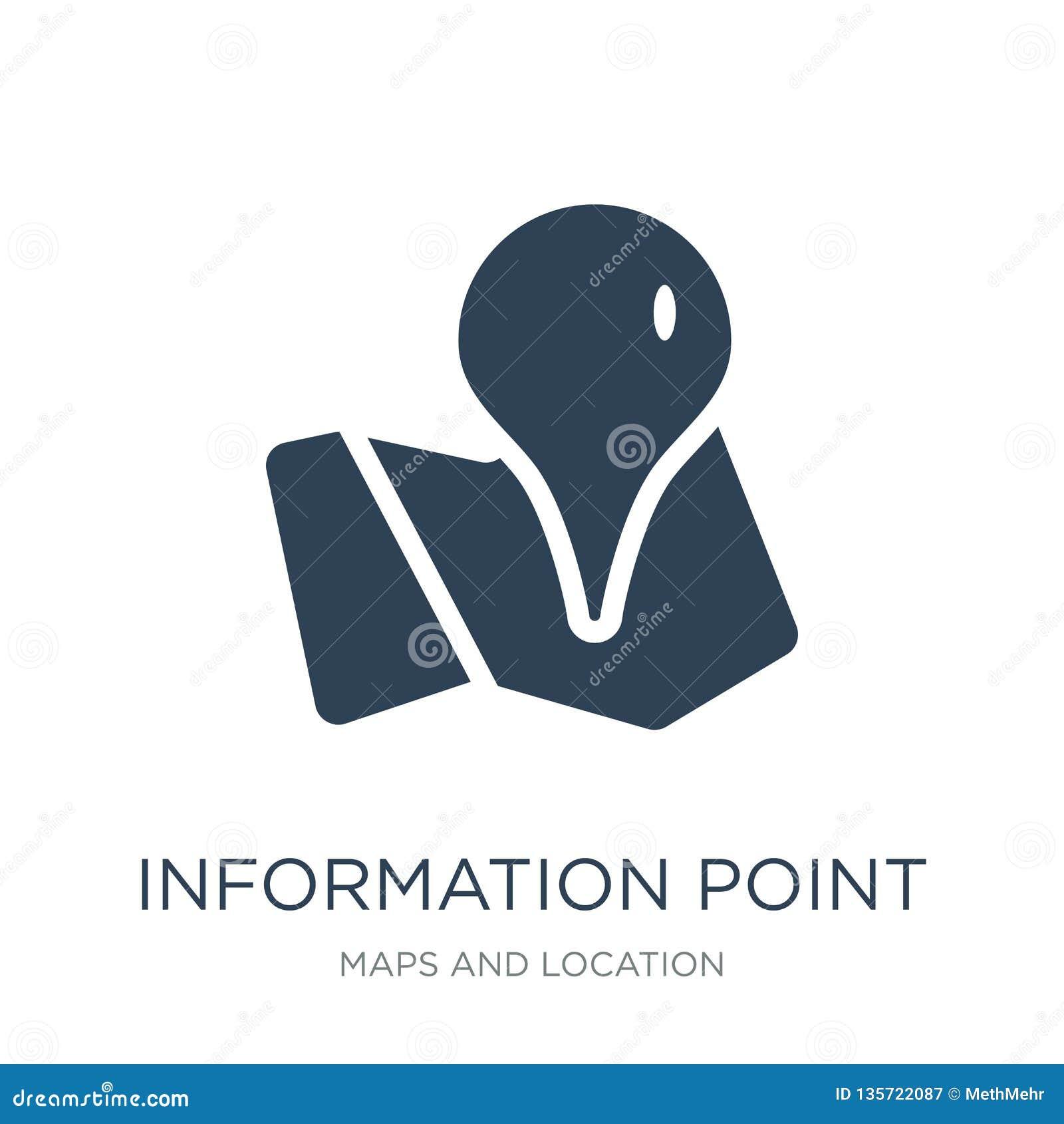 Ewidencyjna punkt ikona w modnym projekta stylu ewidencyjna punkt ikona odizolowywająca na białym tle ewidencyjna punktu wektoru