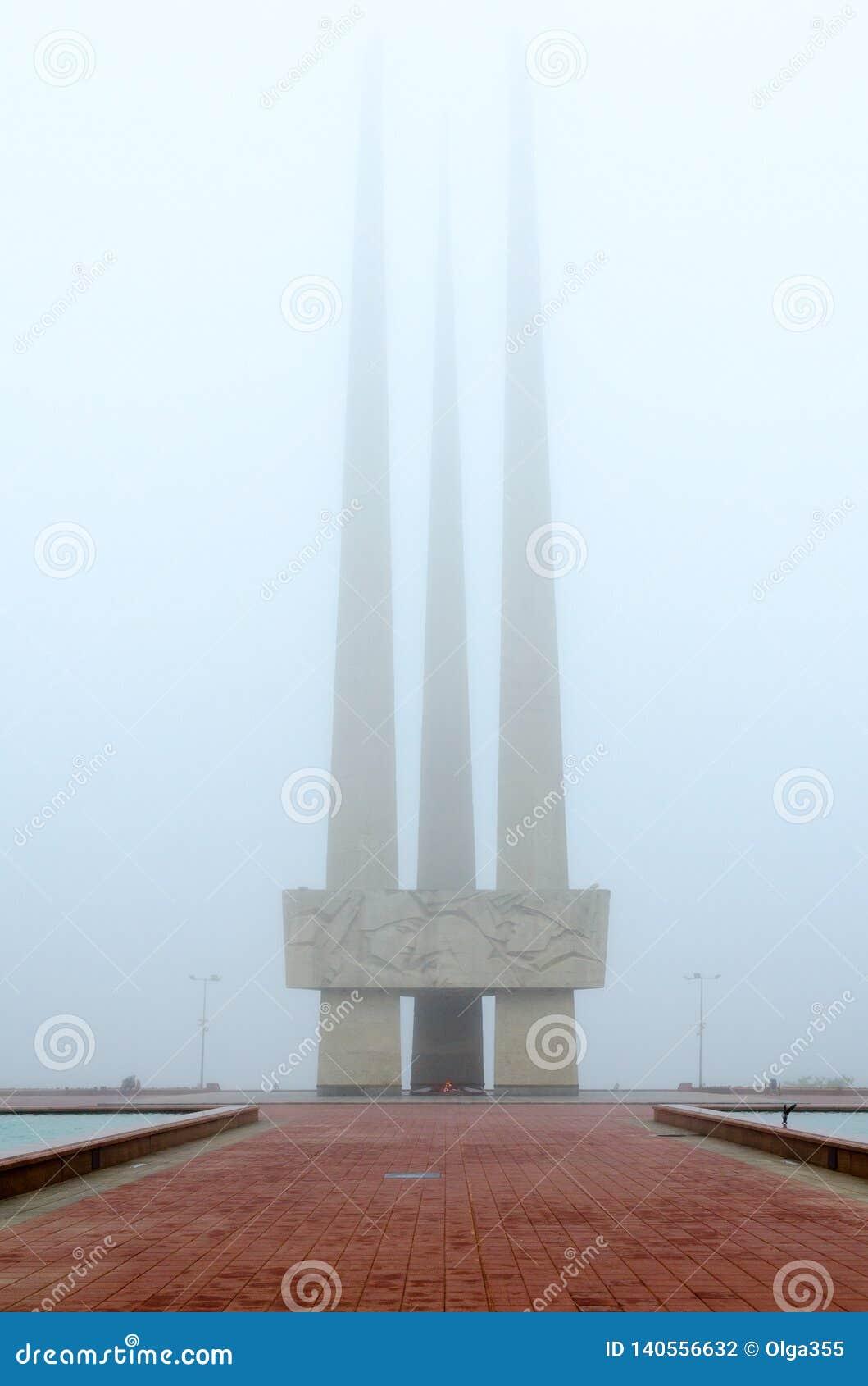 Ewige Flamme Erinnerungskomplex zu Ehren der sowjetischen Soldaten - Befreier, Anhänger und Untertagekämpfer von Vitebsk