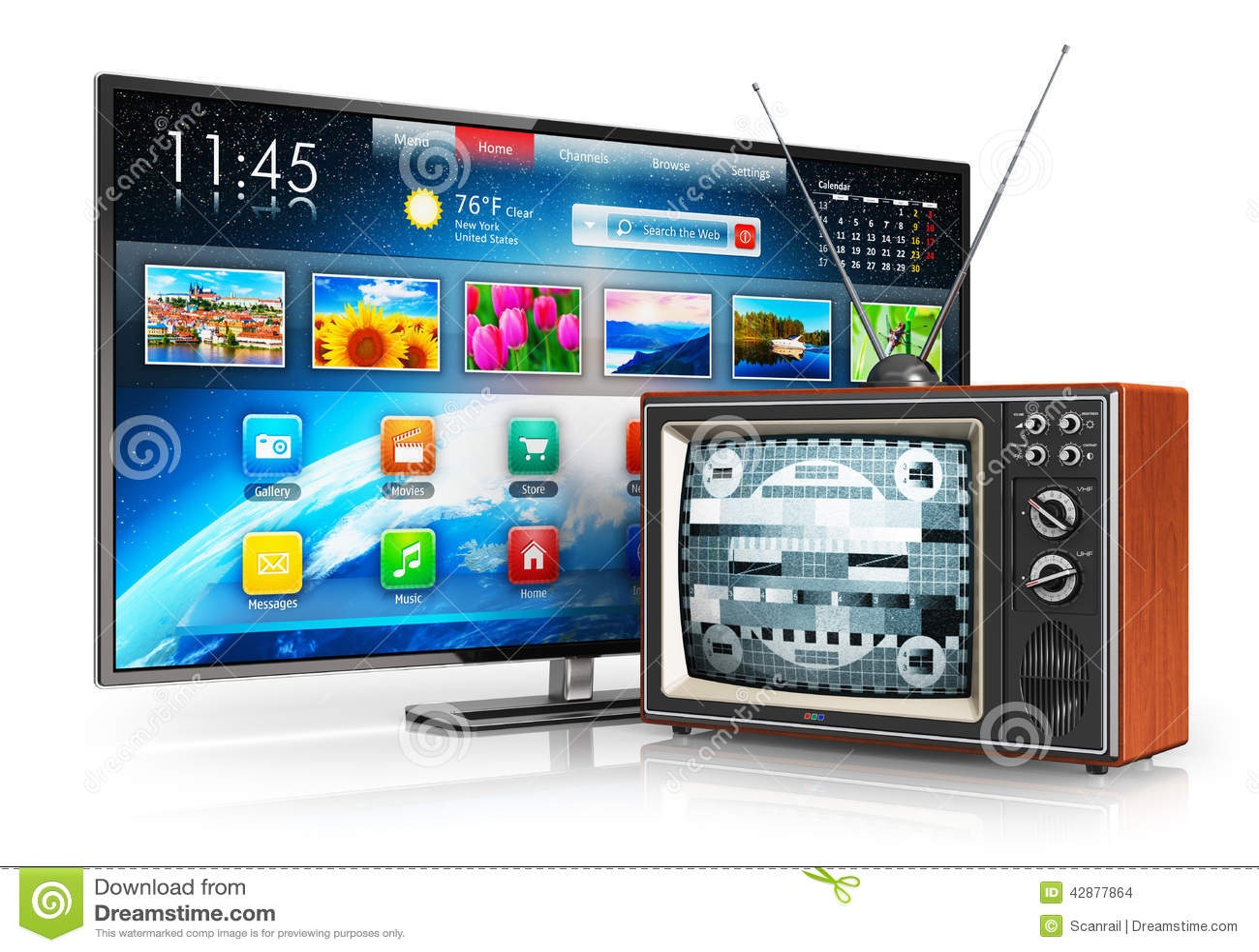 Ewolucja telewizja
