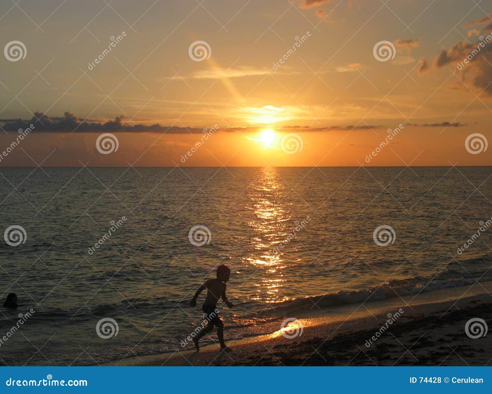 Exécution au coucher du soleil